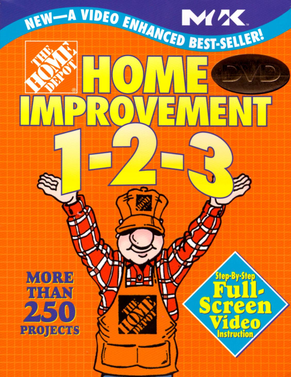 Home Depot Home Improvement 1-2-3