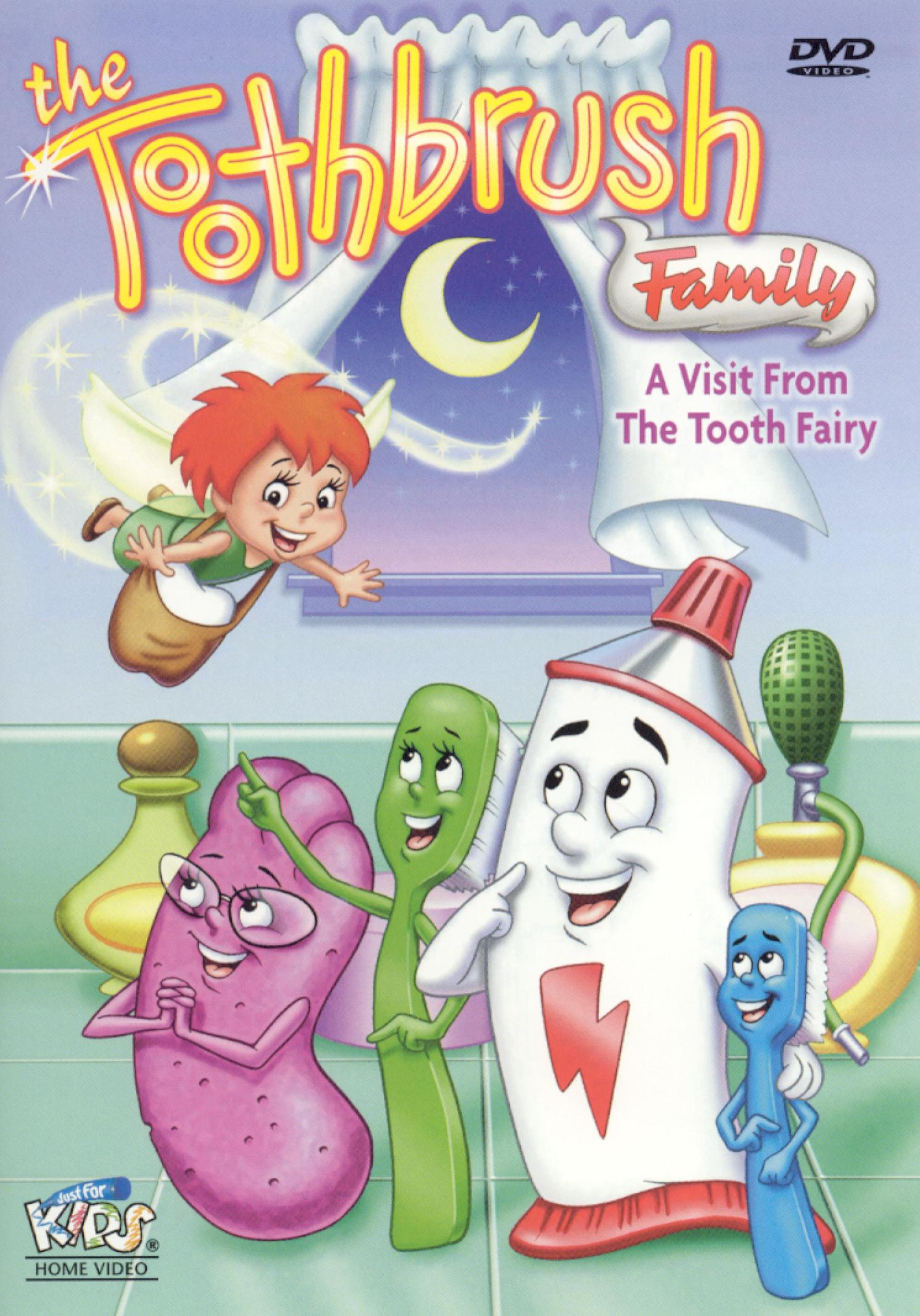 Toothbrush Family: A Visit from the Tooth Fairy