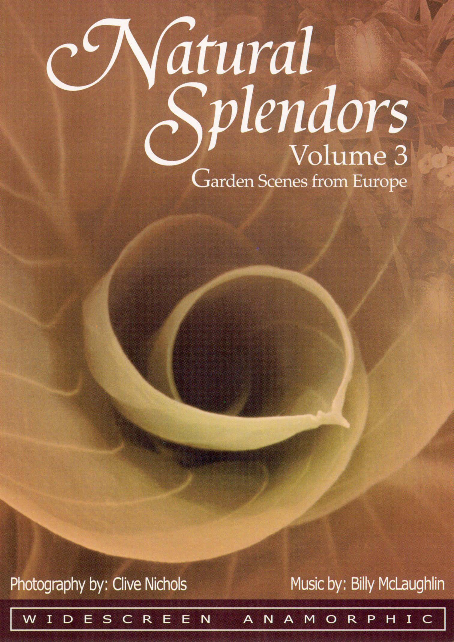 Natural Splendors, Vol. 3: Garden & Nature Scenes from Europe