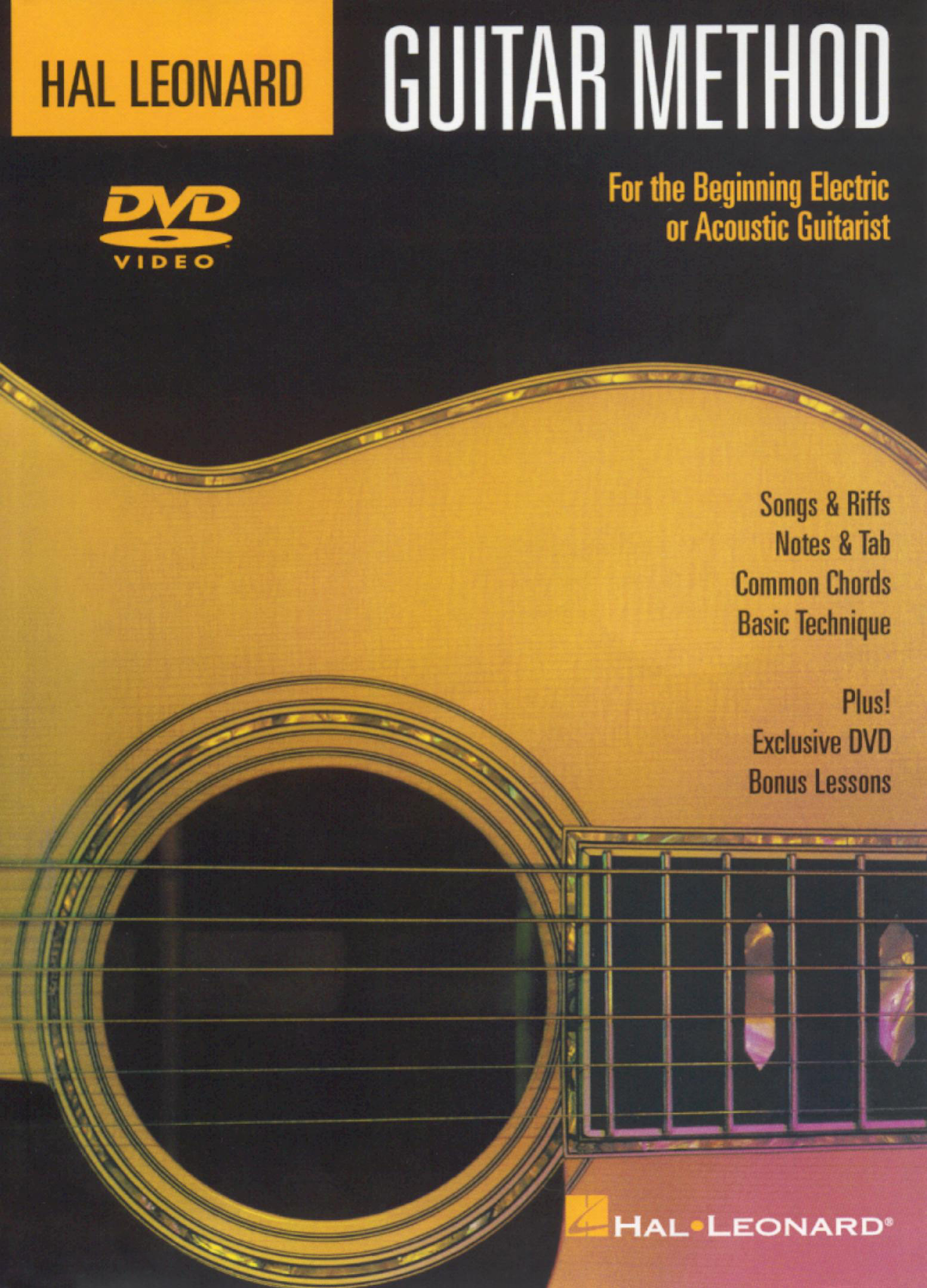 Guitar Method For the Beginning Electric or Acoustic Guitarist