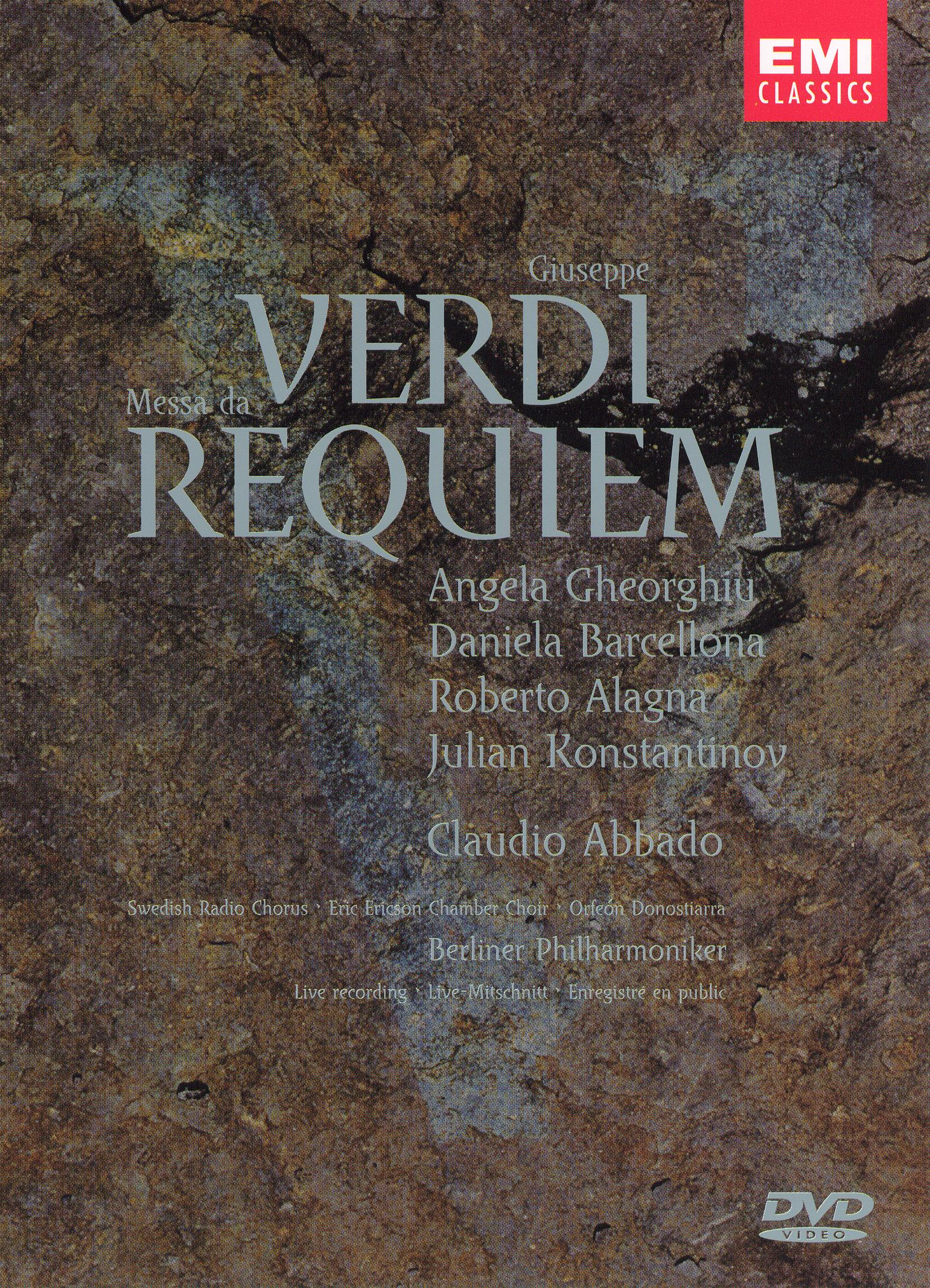 Berliner Philharmoniker/Claudio Abbado: Verdi - Messa da Requiem