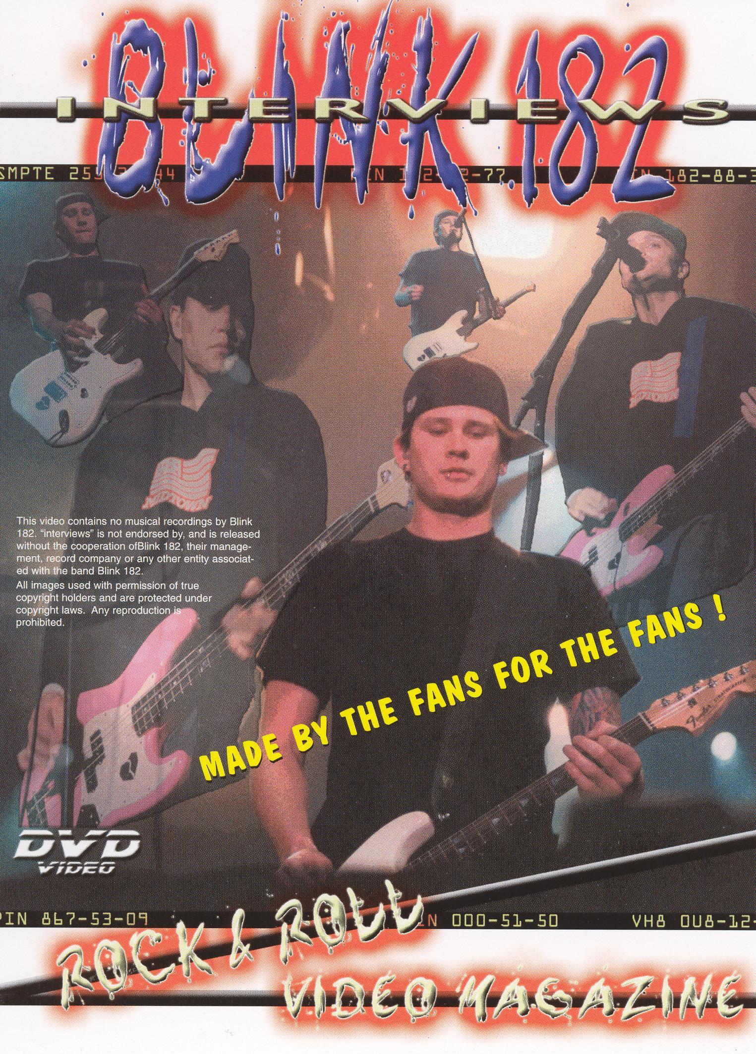 Blink 182: Interviews