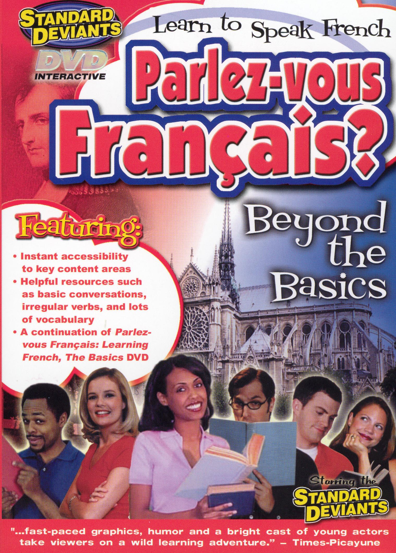 The Standard Deviants: Parlez-Vous Français? Learn to Speak French - Beyond the Basics
