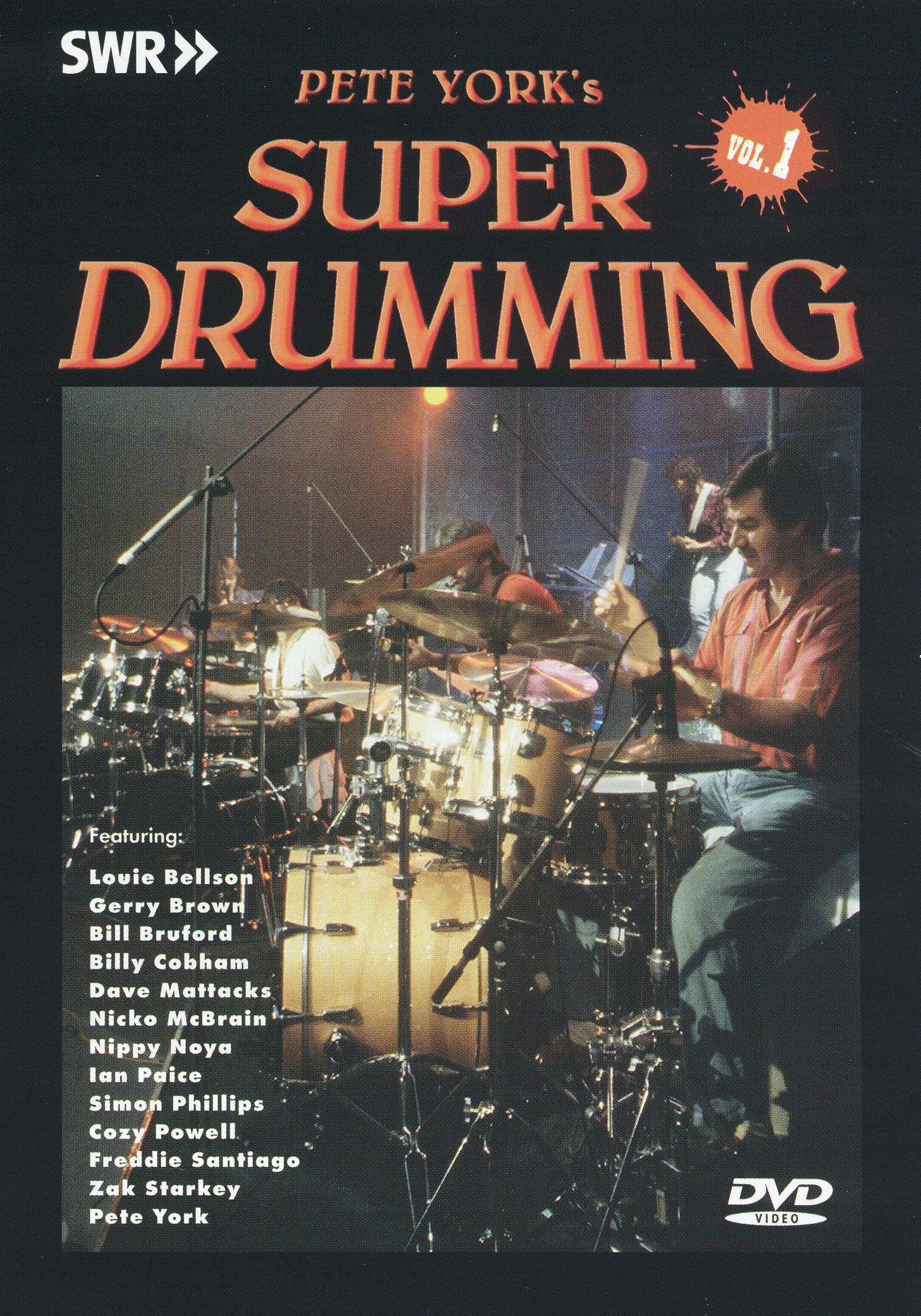 Super Drumming, Vol. 1