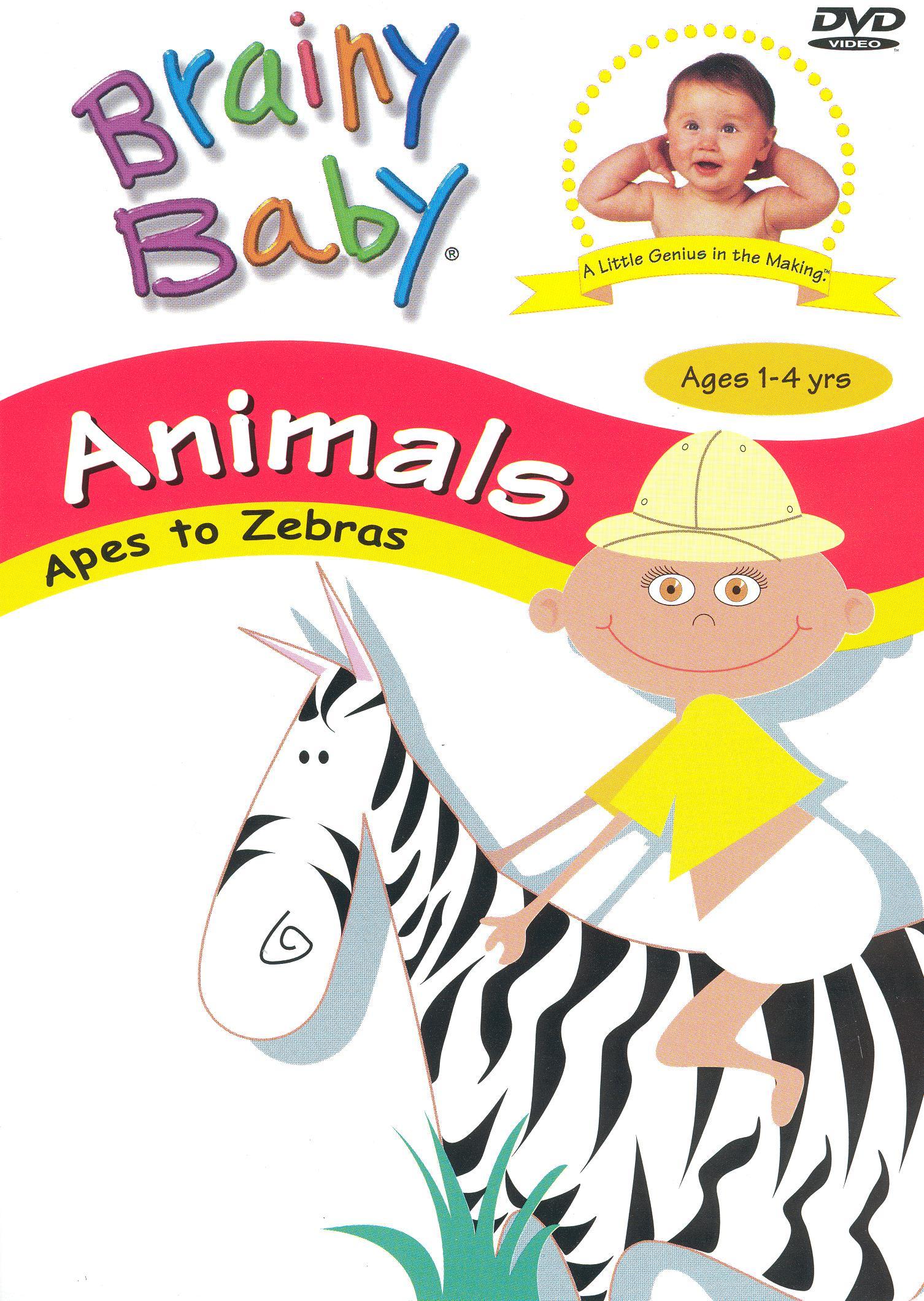 Brainy Baby: Animals - Apes to Zebras