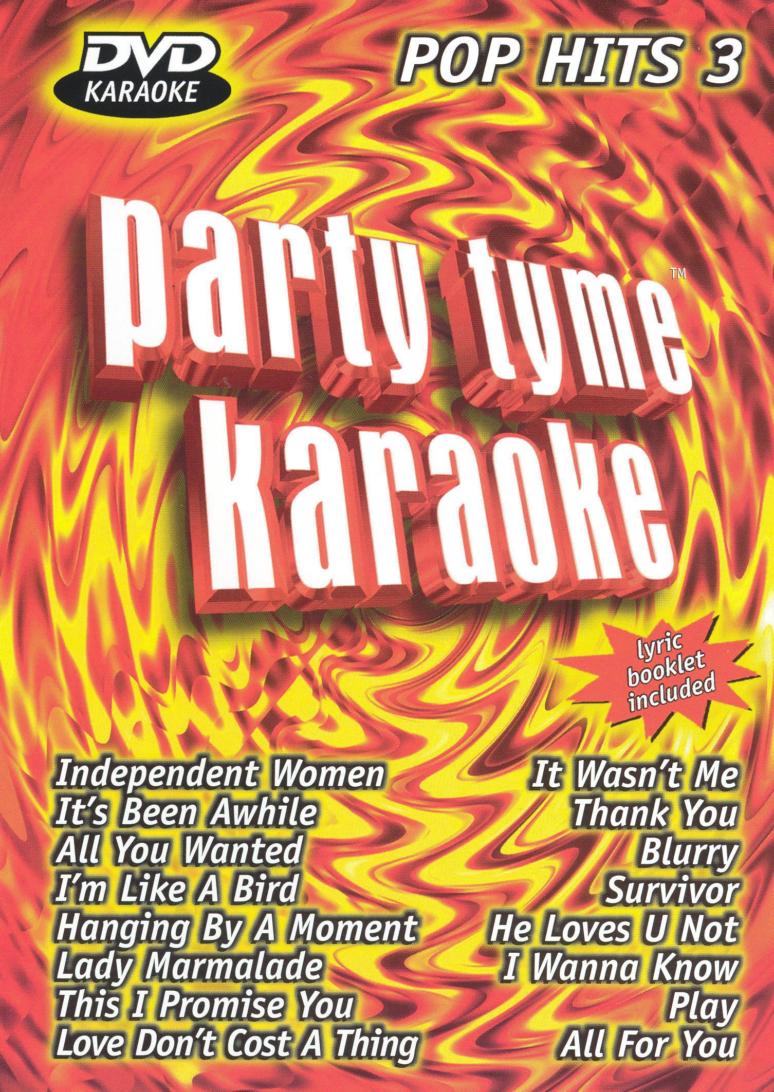 Party Tyme Karaoke: Pop Hits, Vol. 3