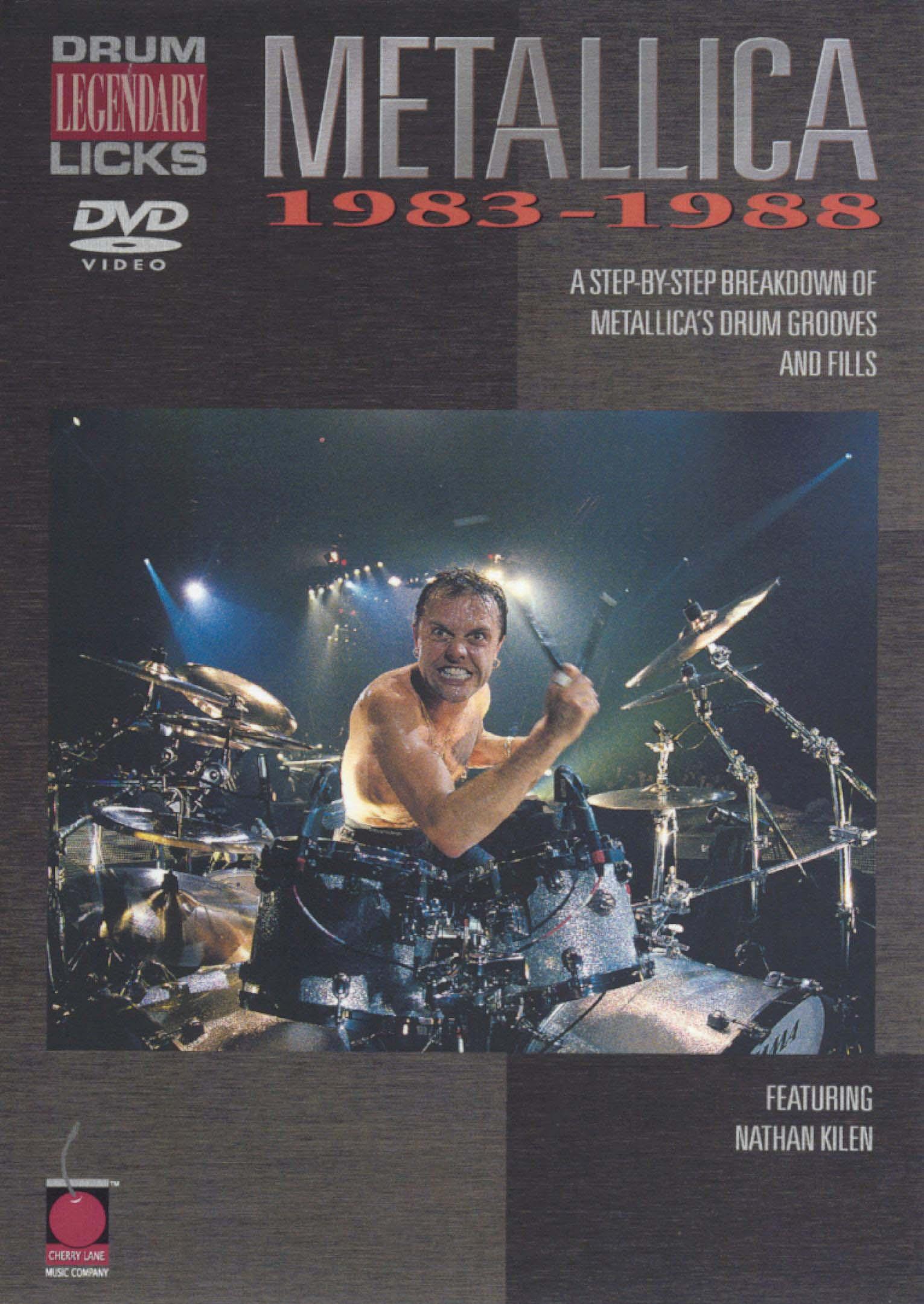 Metallica: Legendary Licks - Drum, 1983-1988