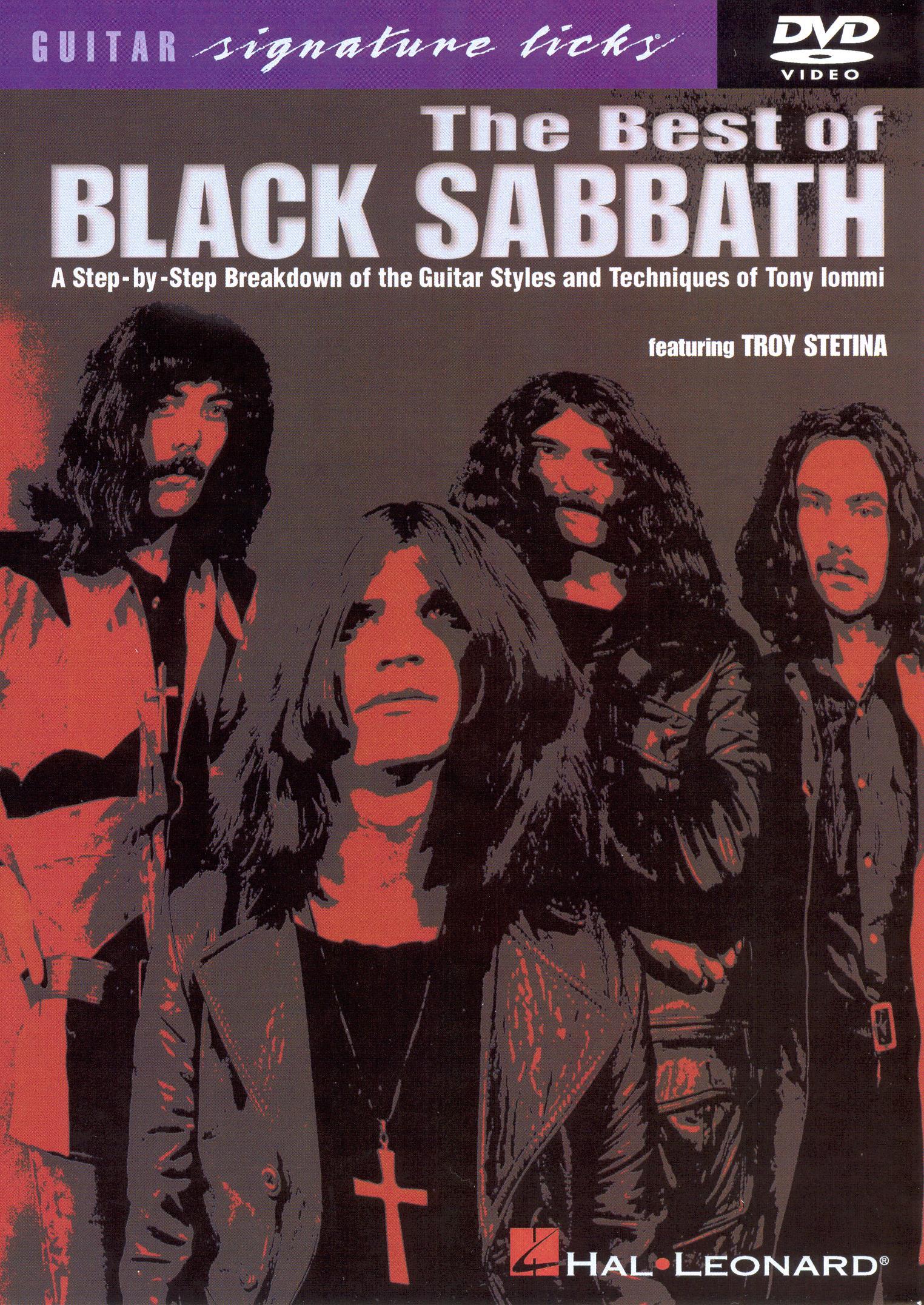 Guitar Signature Licks: The Best of Black Sabbath