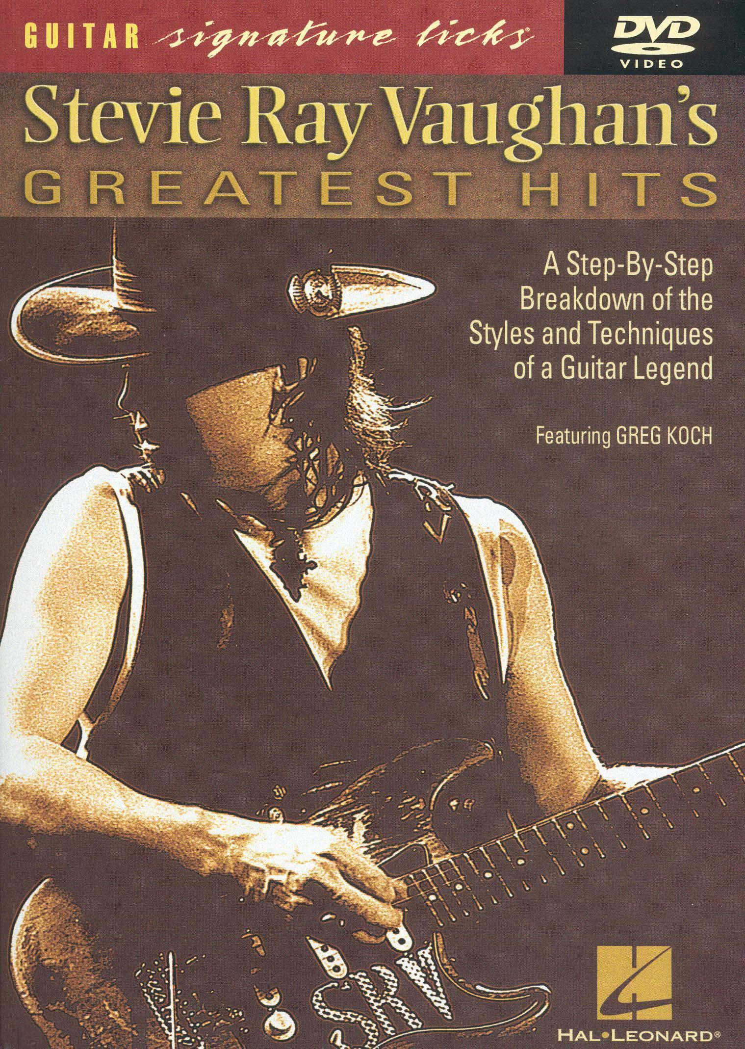 Guitar Signature Licks: Stevie Ray Vaughan's Greatest Hits