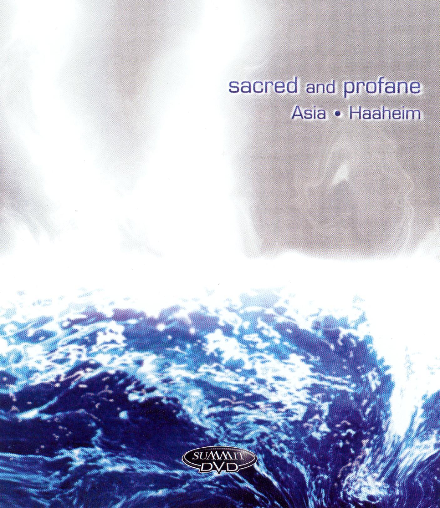 Asia/Haahiem: Sacred & Profane