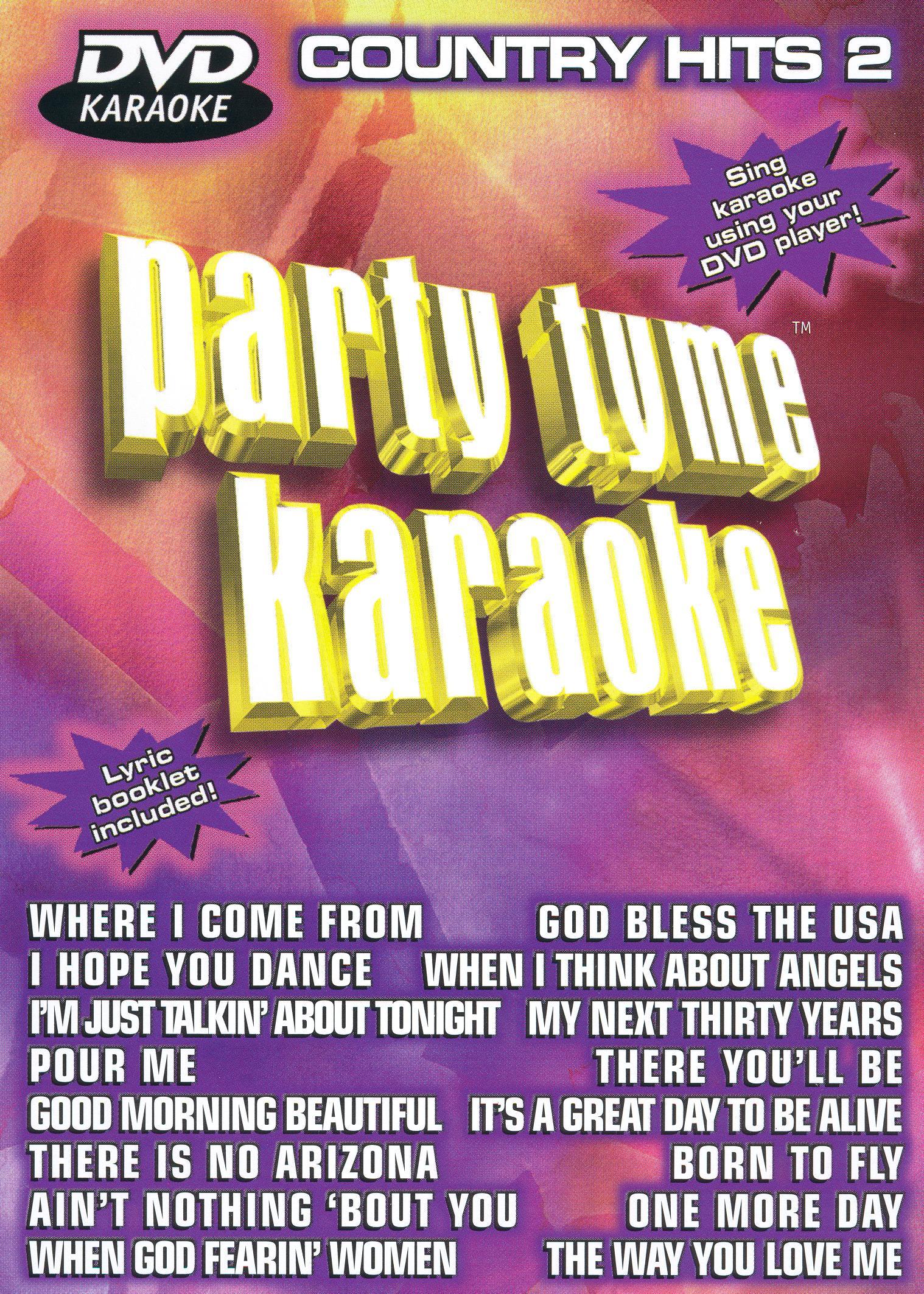Party Tyme Karaoke: Country Hits, Vol. 2