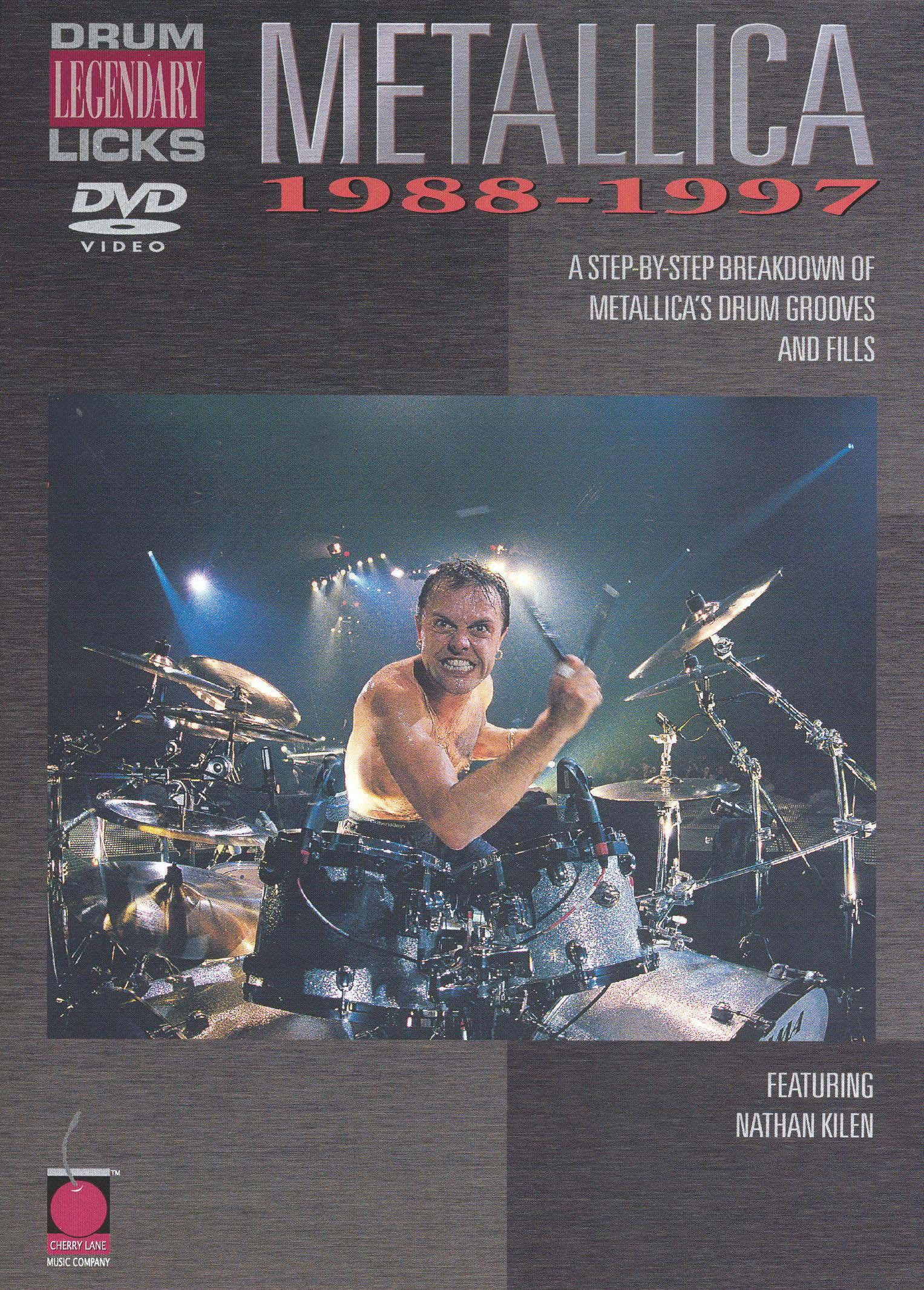 Metallica: Legendary Licks - Drum, 1988-1997