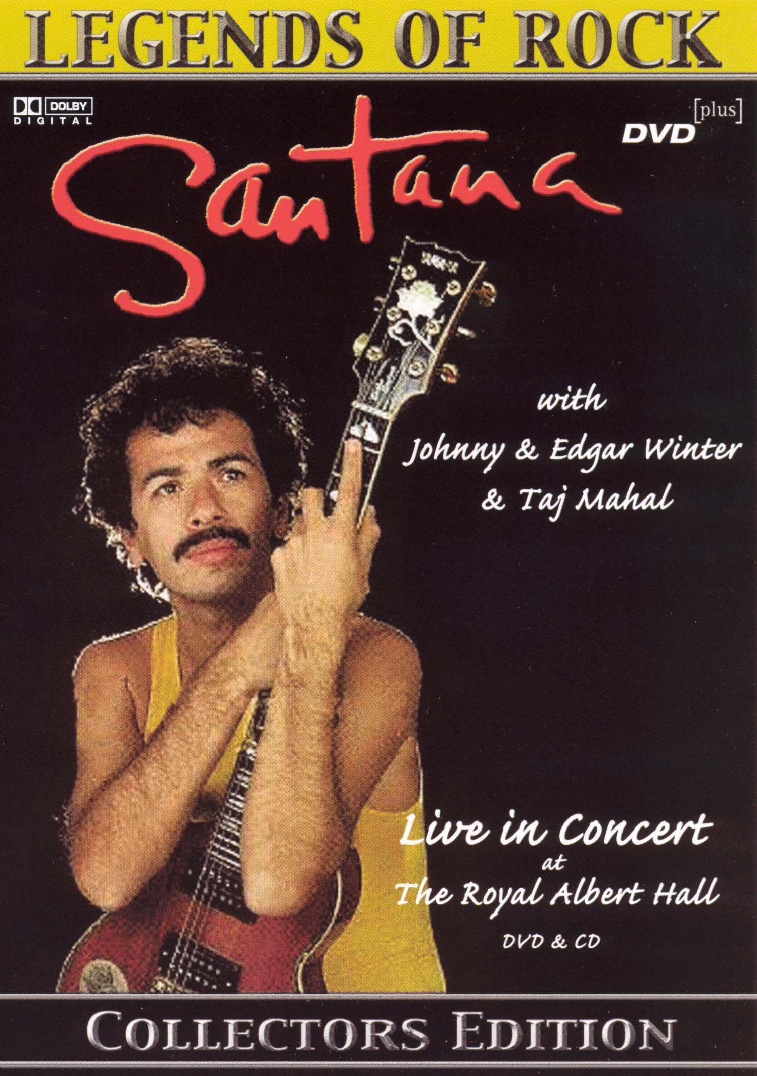 Santana: With Johnny & Edgar Winter & Taj Mahal: Live in Concert at The Royal Albert Theater