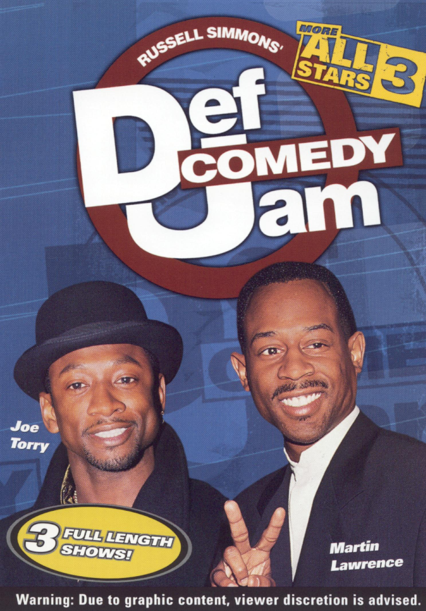 Def Comedy Jam: More All Stars, Vol. 3