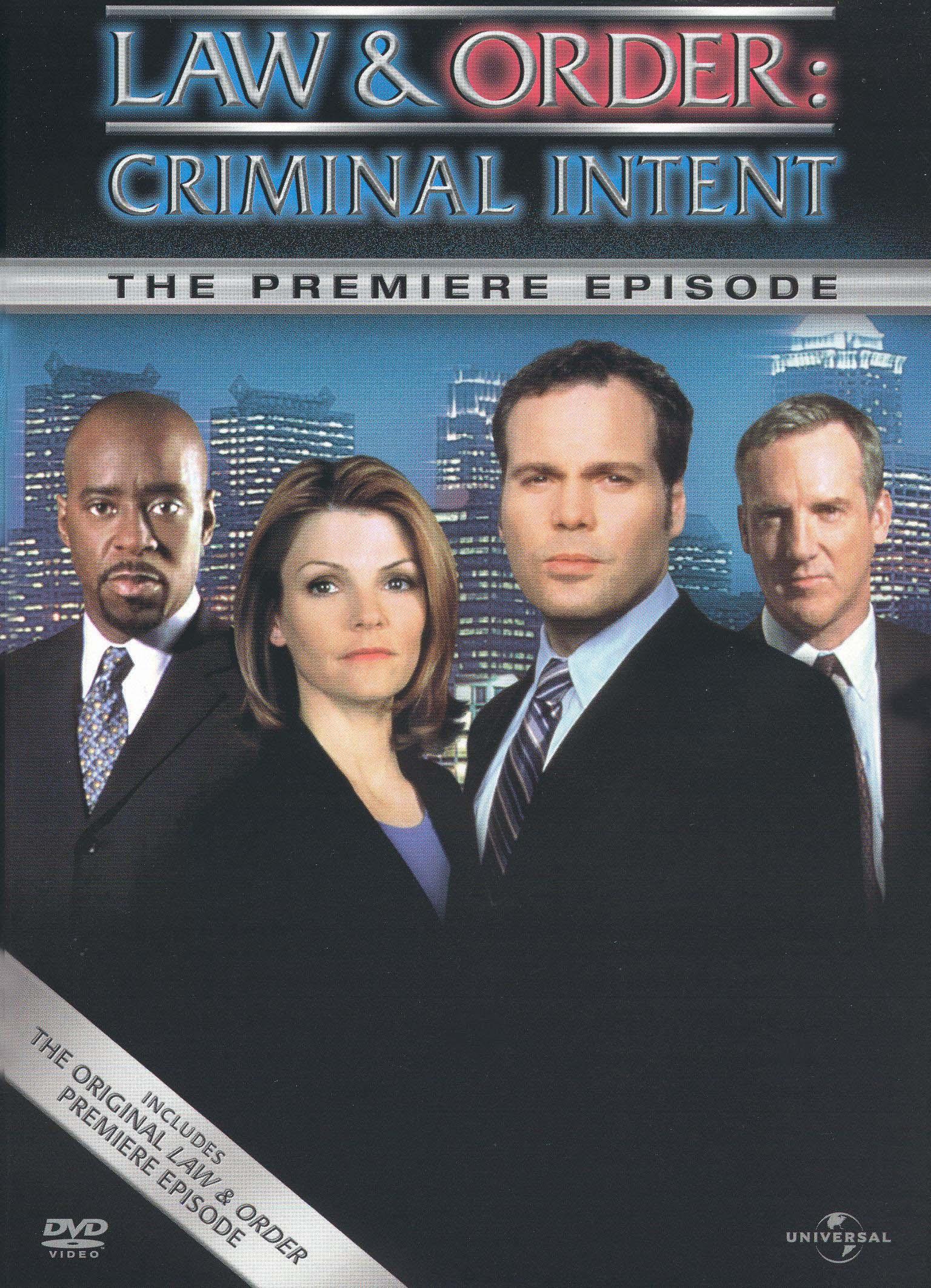 Law & Order: Criminal Intent: One