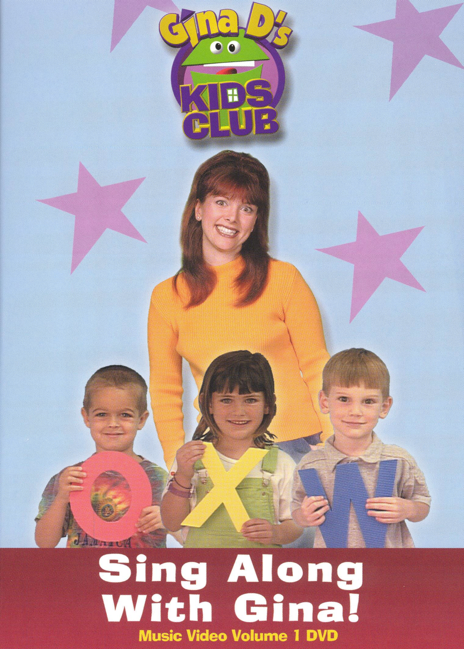 Gina D's Kids Club: Sing Along With Gina! Vol. 1