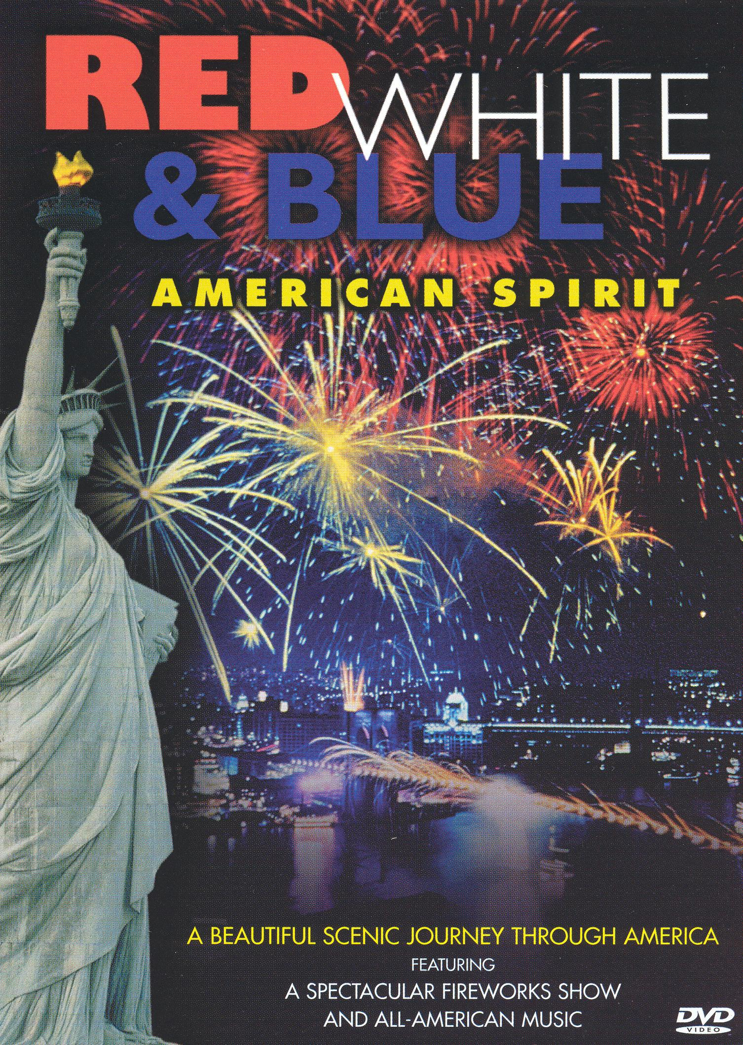 Red White and Blue American Spirit