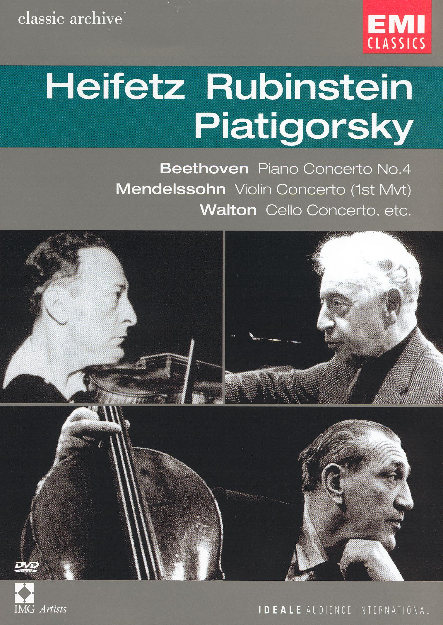 Classic Archive: Heifetz/Rubinstein/Piatigorsky