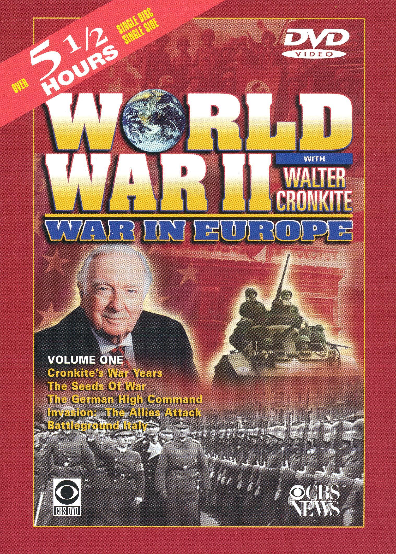 World War II With Walter Cronkite: War in Europe, Vol. 1