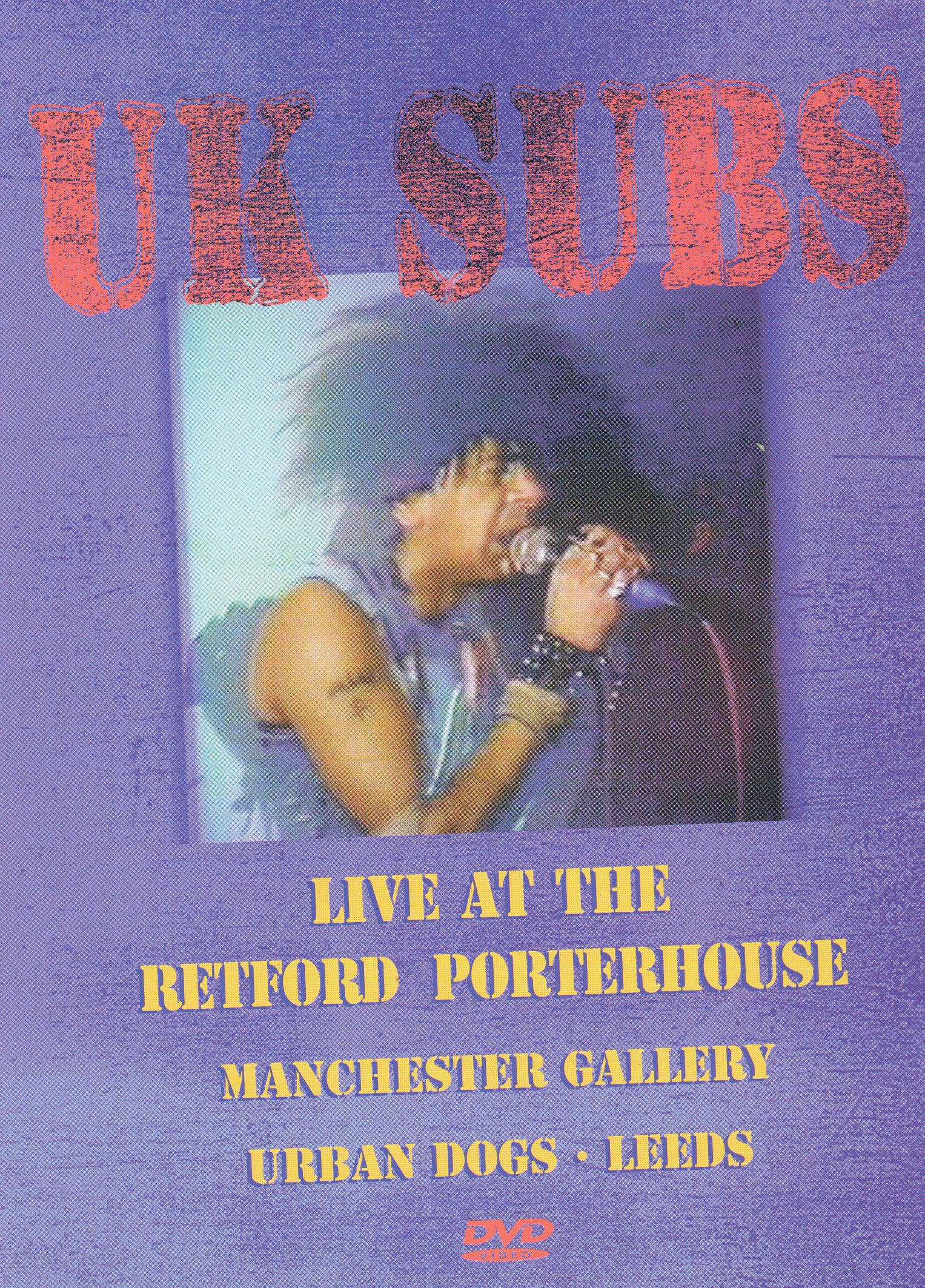 UK Subs: Live at the Retford Porterhouse