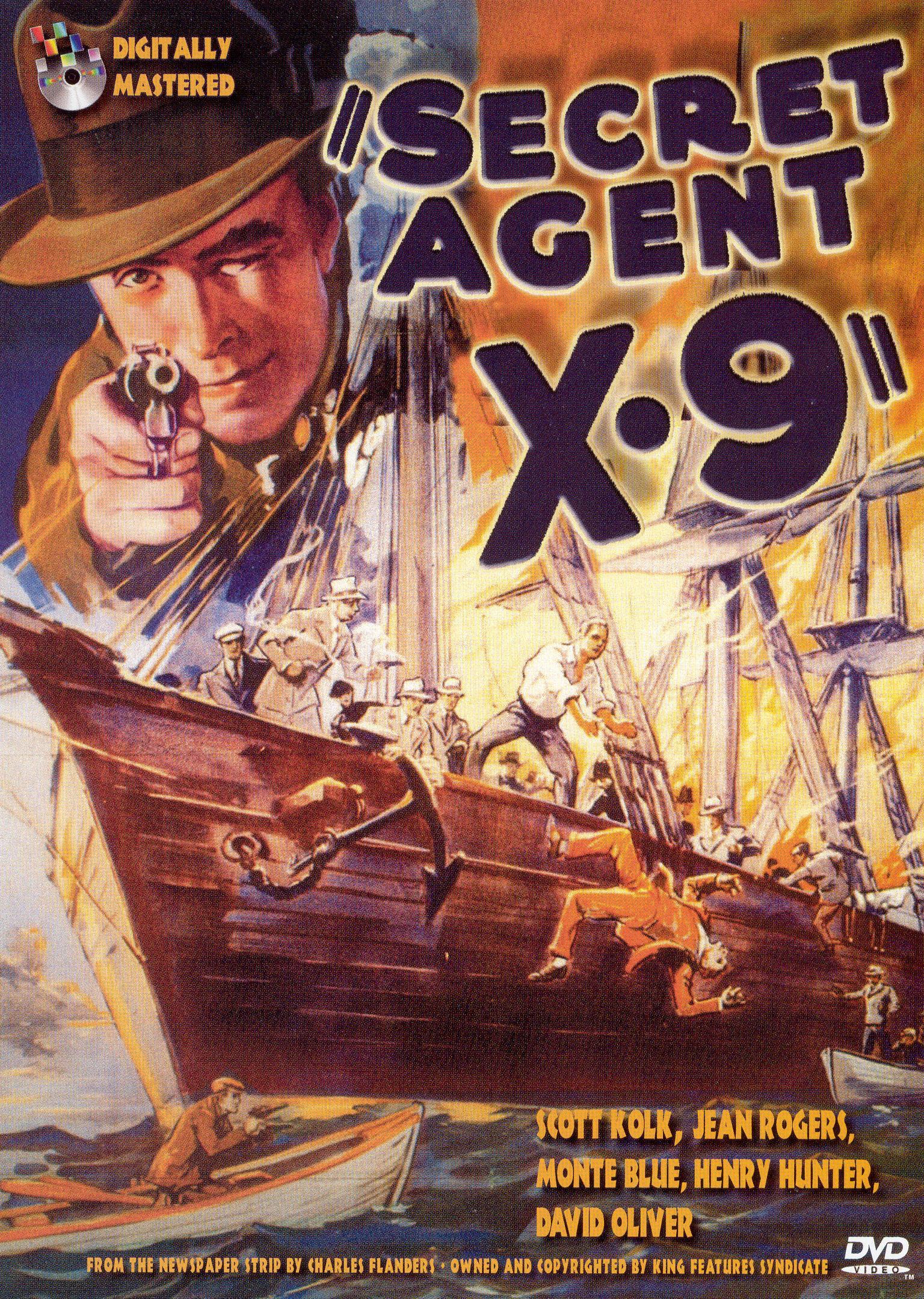 Secret Agent X-9 [Serial] [1937]