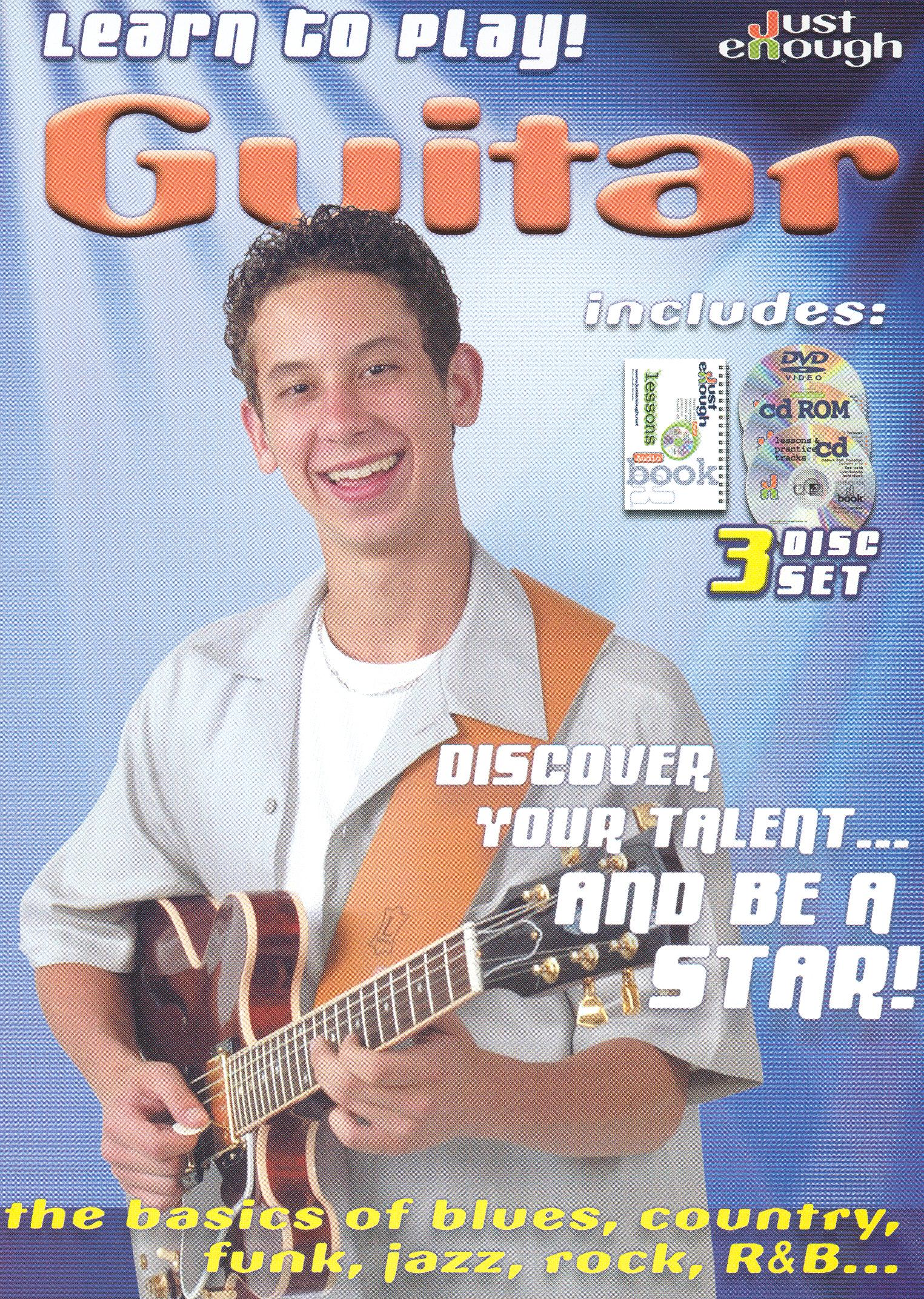 JustEnough: Learn to Play Guitar