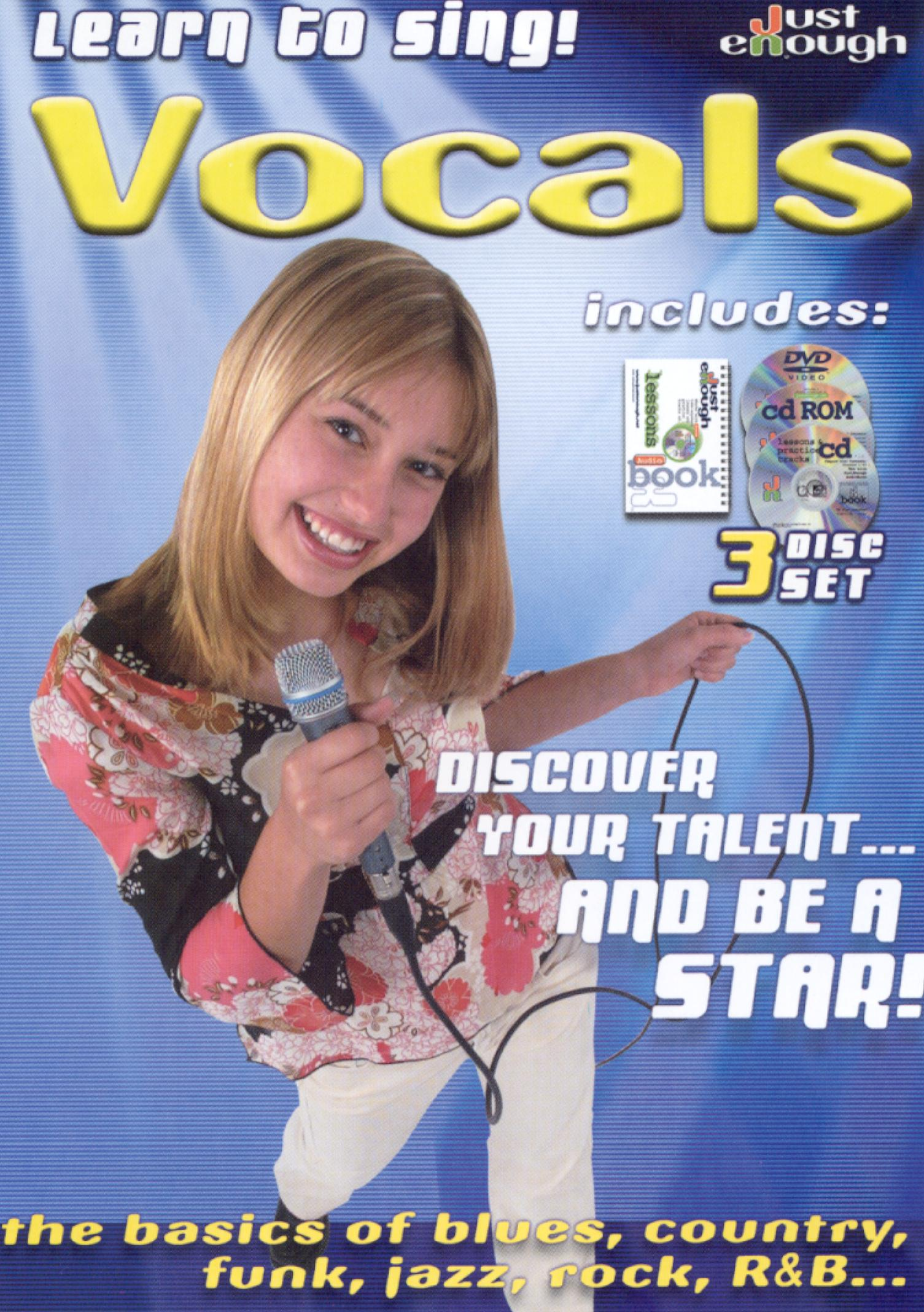 JustEnough: Learn to Sing Vocals