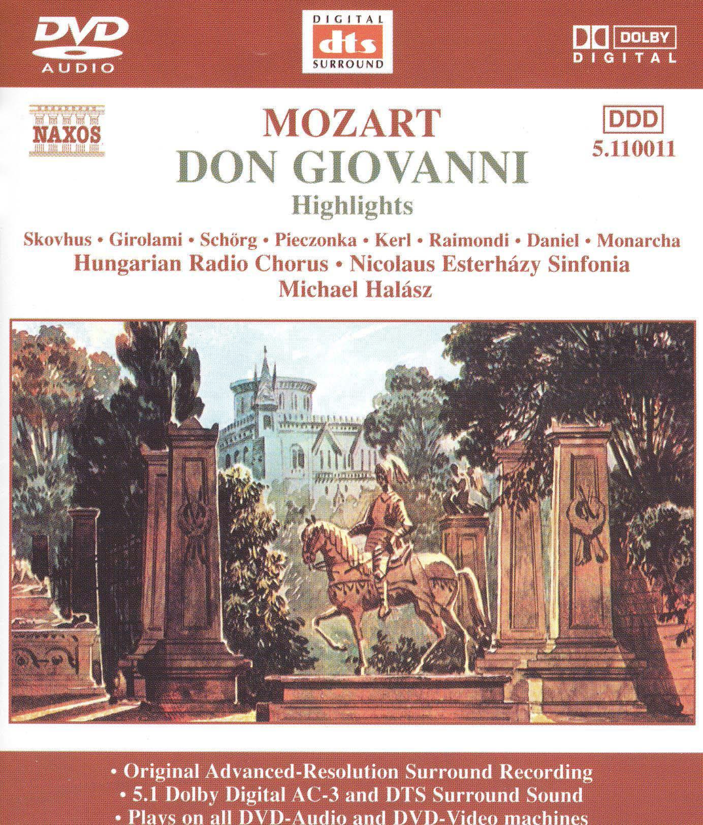 Don Giovanni: Highlights