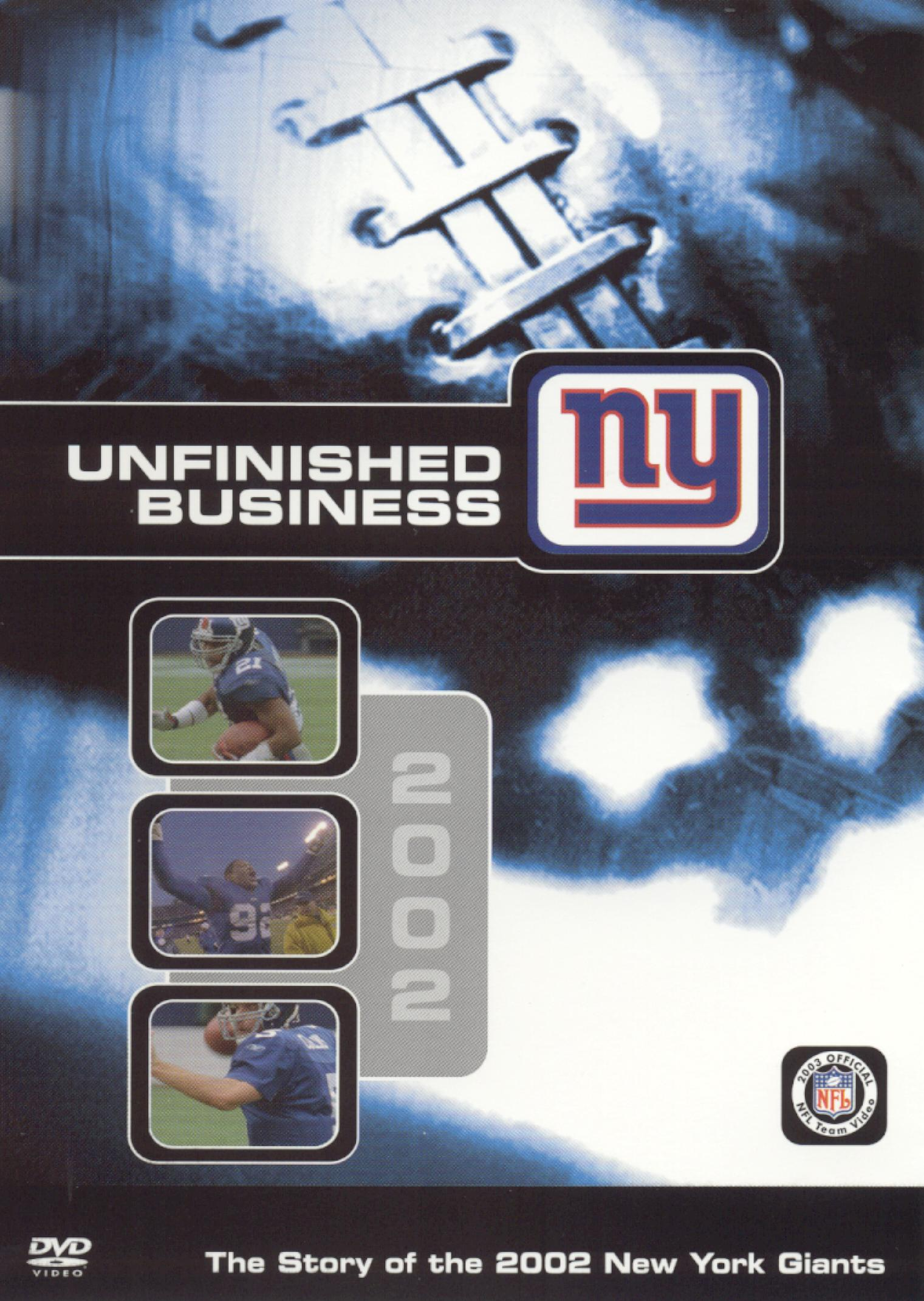NFL: 2002 New York Giants Team Video - Unfinished Business
