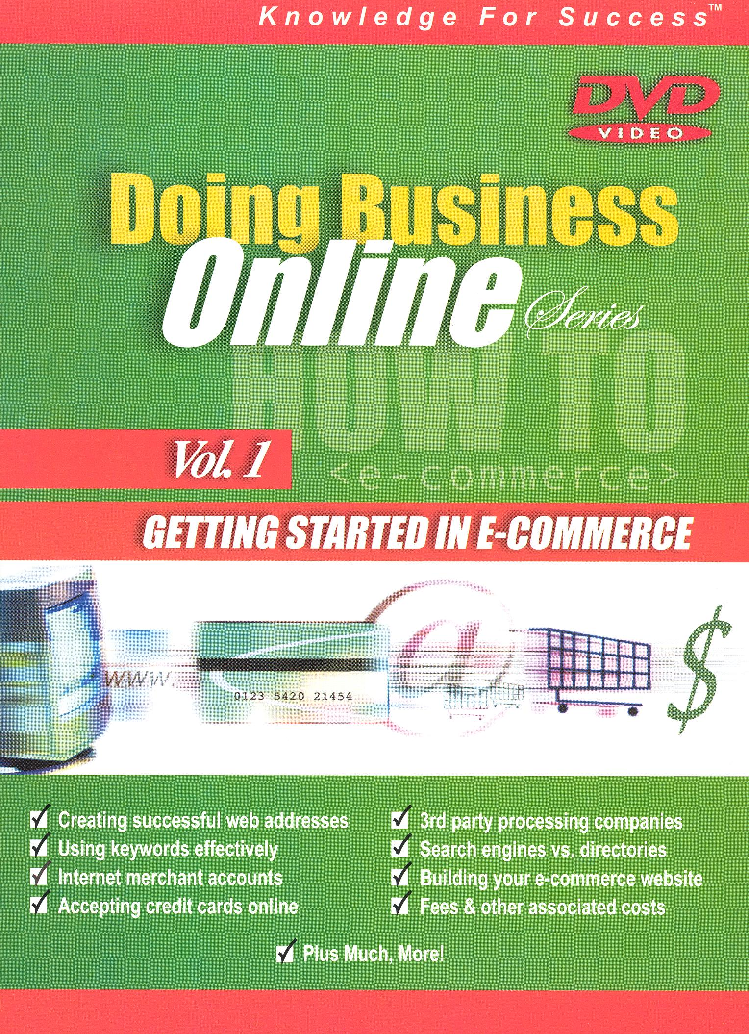 Doing Business Online, Vol. 1
