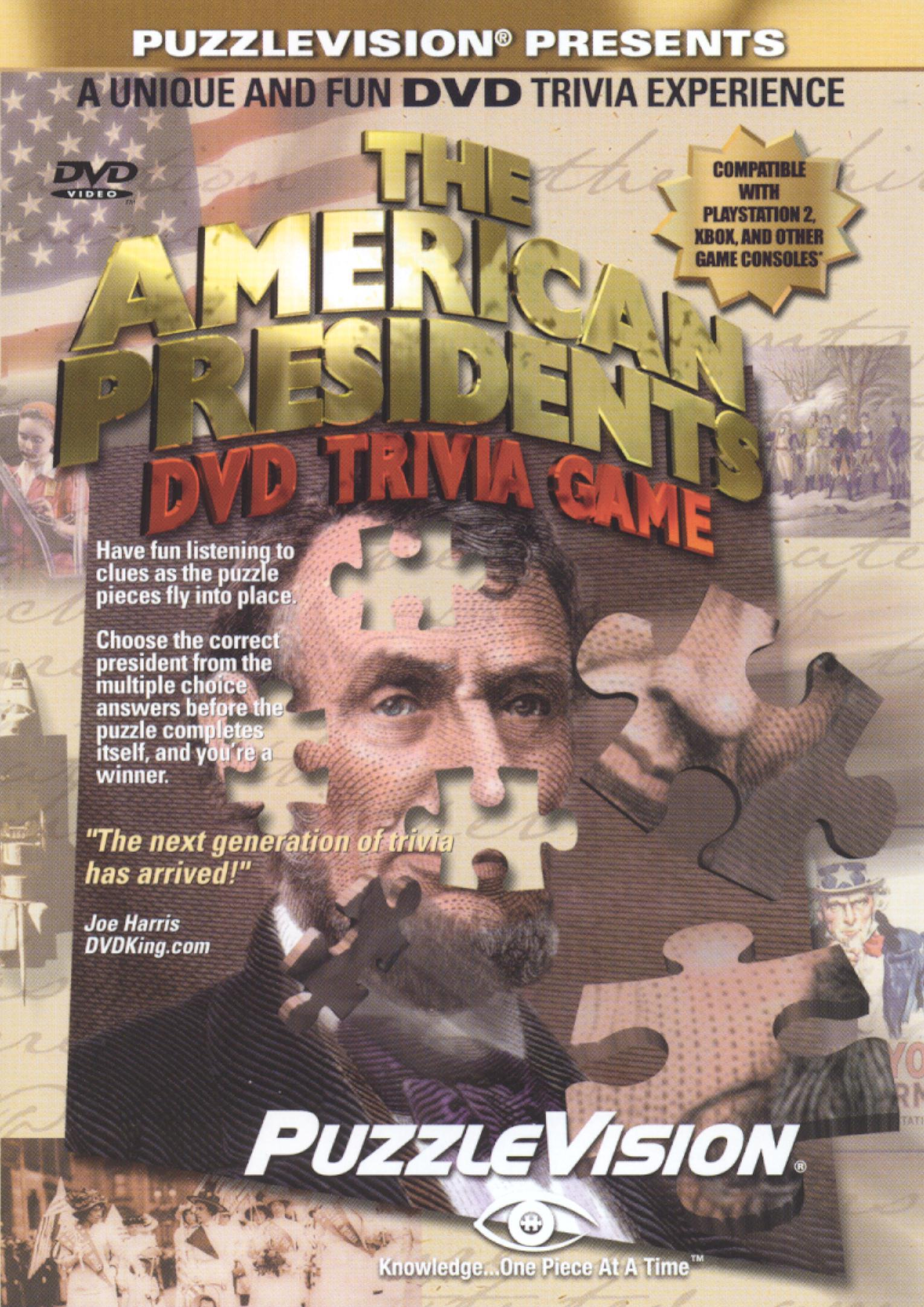 The American Presidents Trivia Game