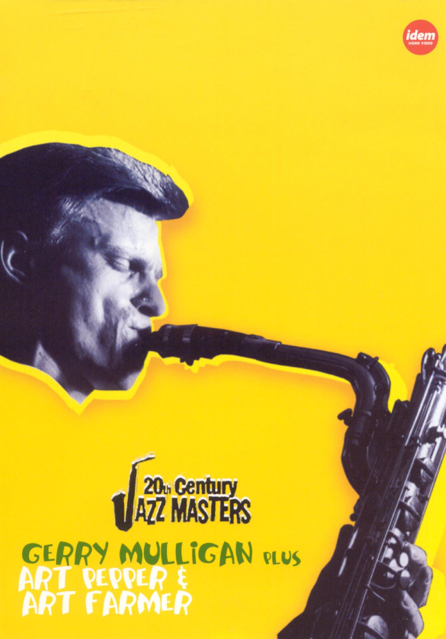 20th Century Jazz Masters: Gerry Mulligan/Art Pepper/Art Farmer