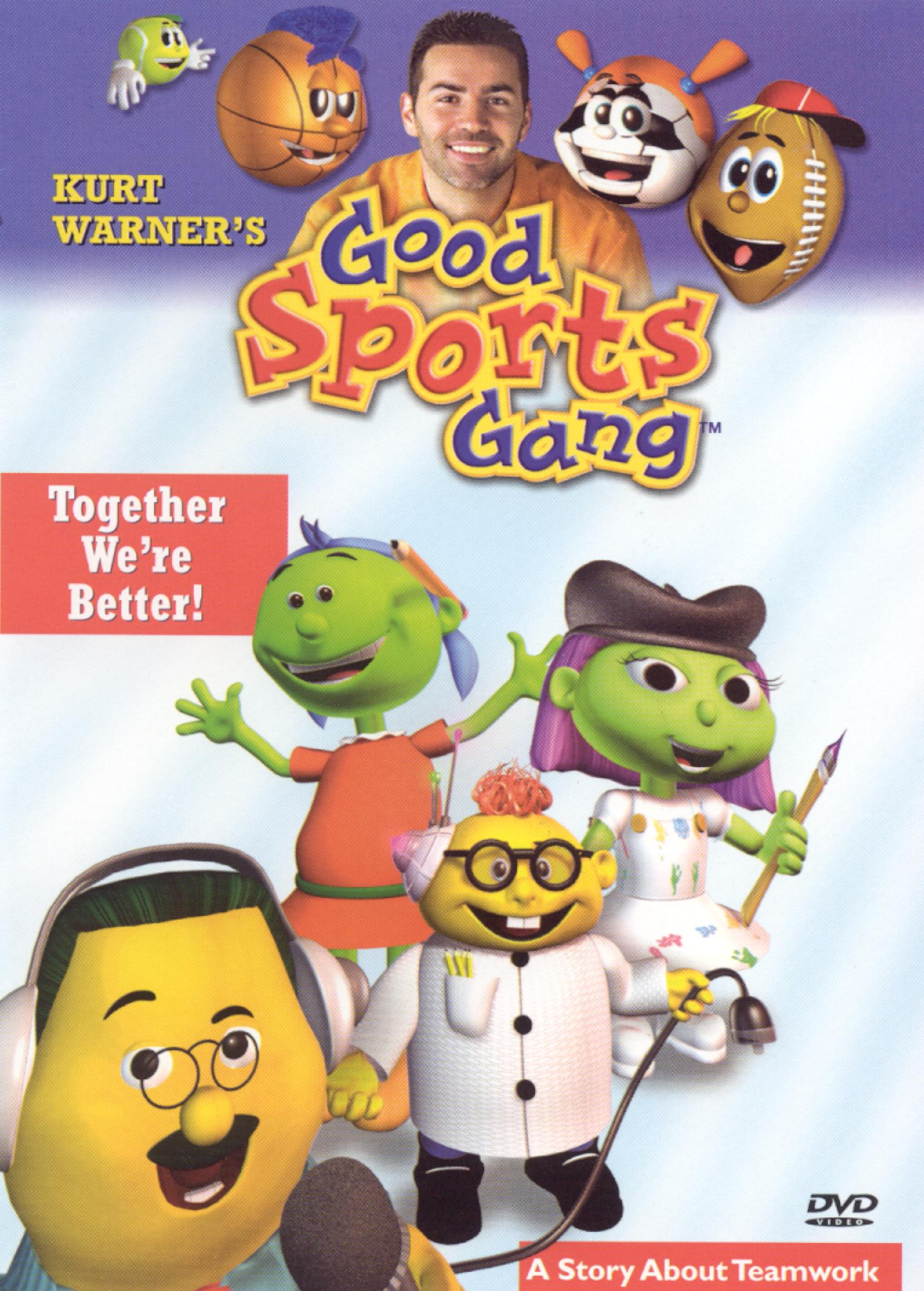 Kurt Warner's Good Sports Gang, Episode 2: Together We're Better! A Story About Teamwork