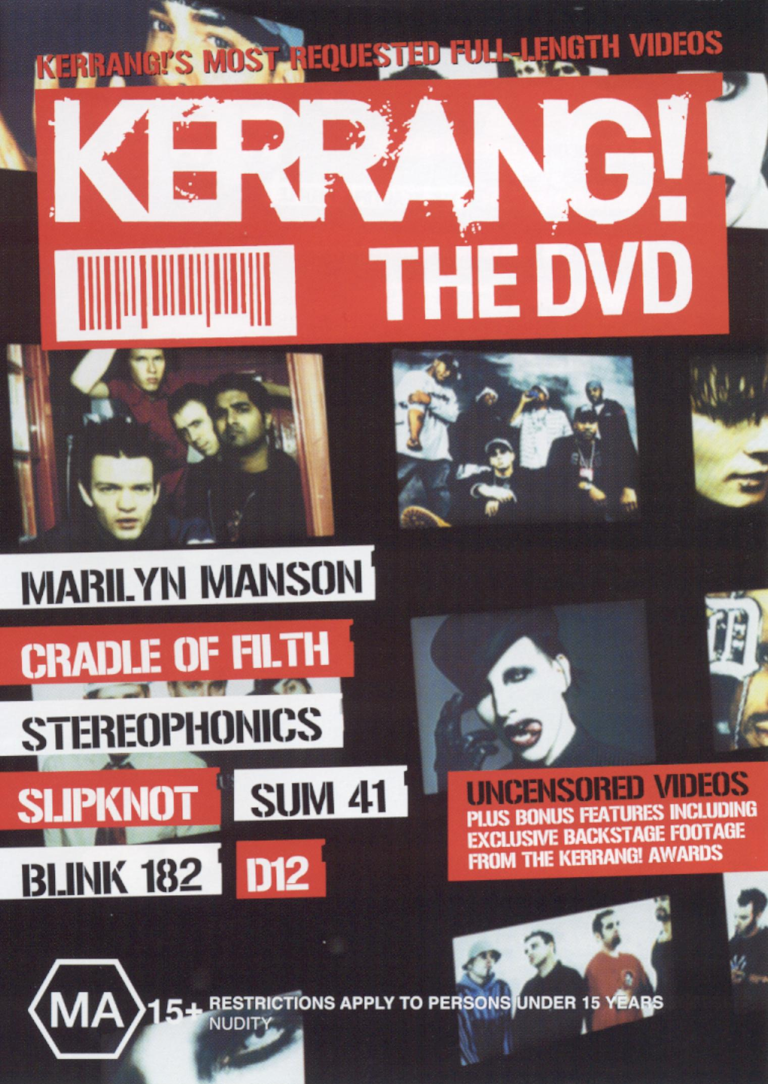 Kerrang! The DVD: Kerrang!'s Most Requested Full-Length Videos