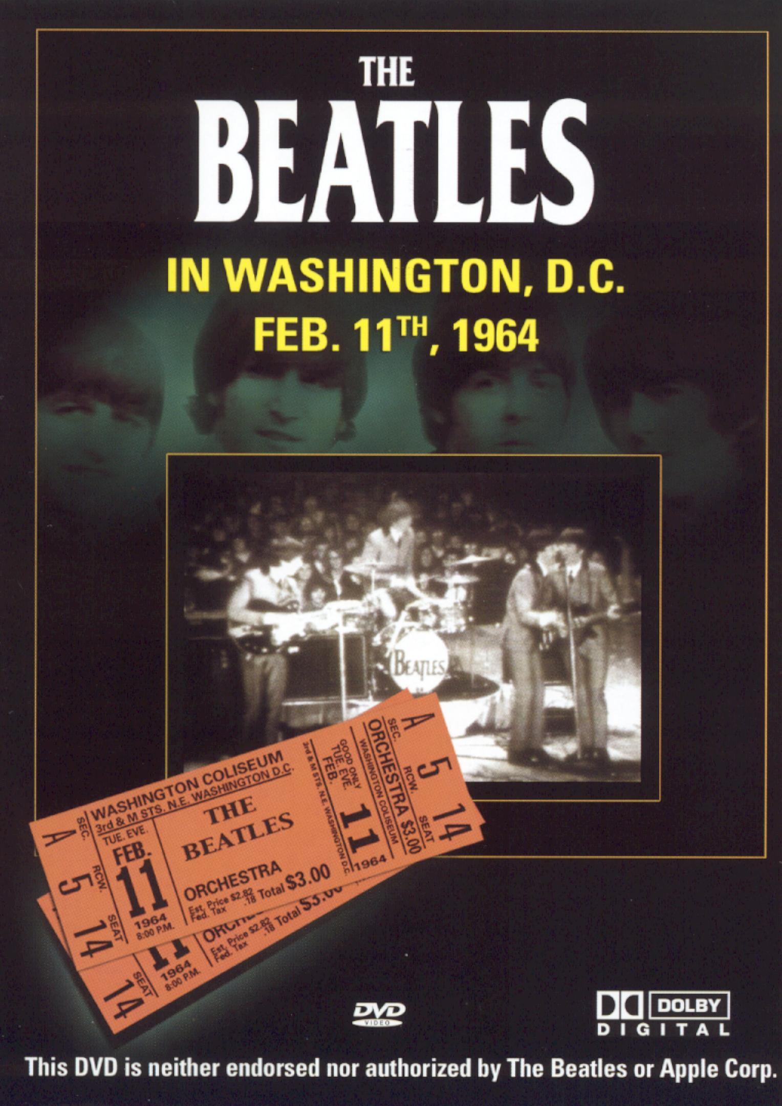 The Beatles: Washington, D.C. Feb. 11, 1964