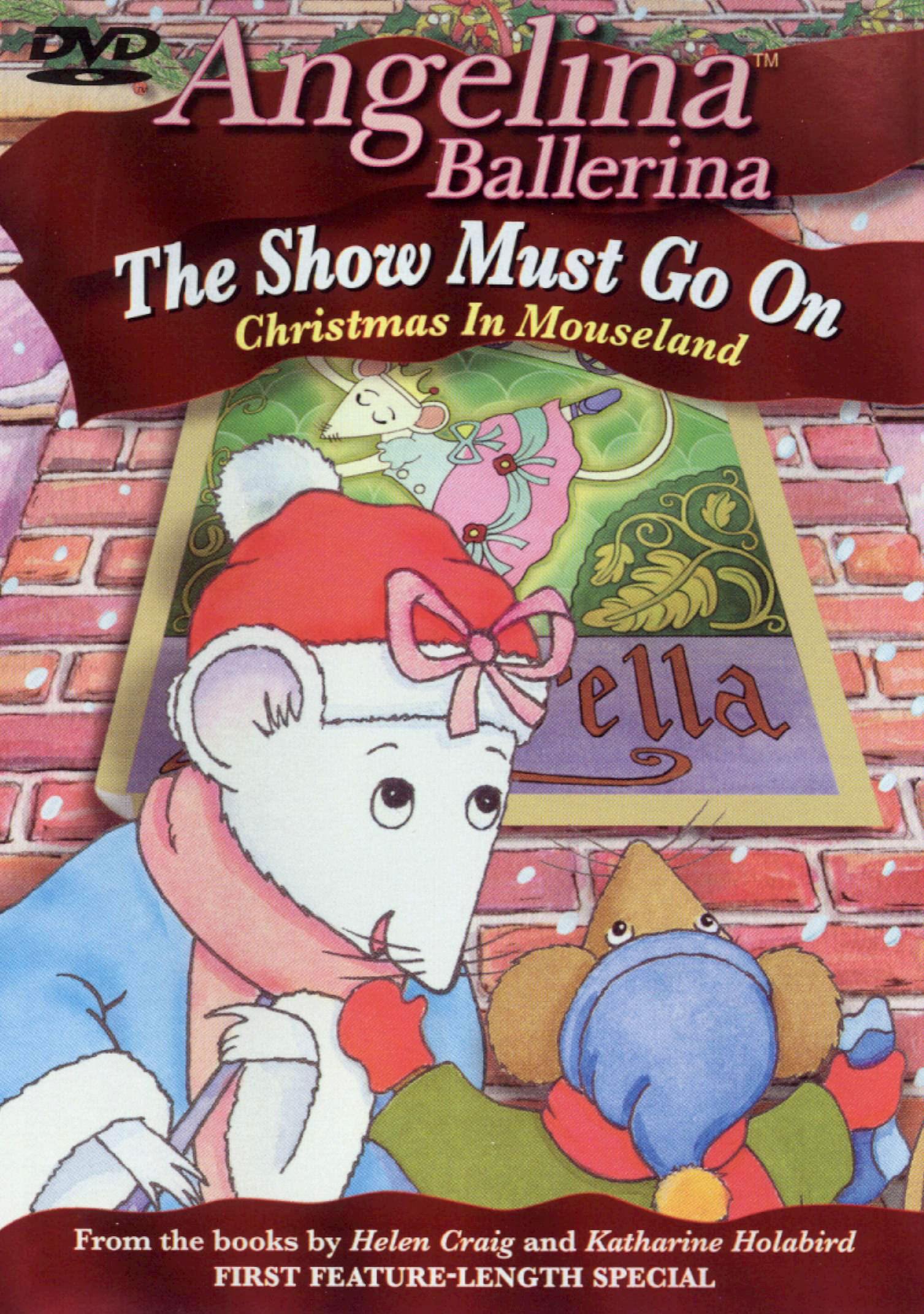 Angelina Ballerina: The Show Must Go On - Christmas in Mouse Land