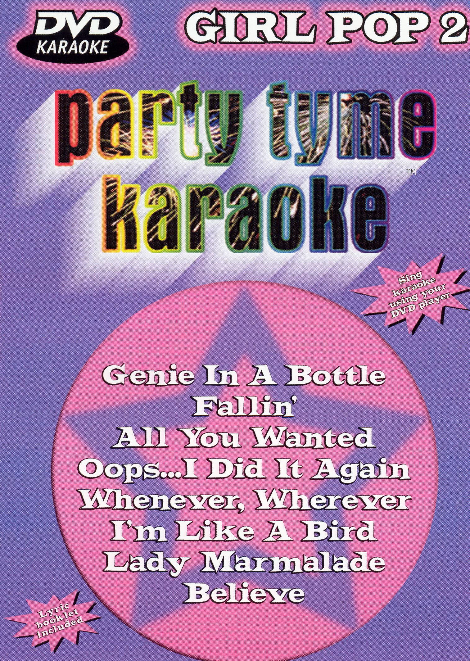 Party Tyme Karaoke: Girl Pop, Vol. 2