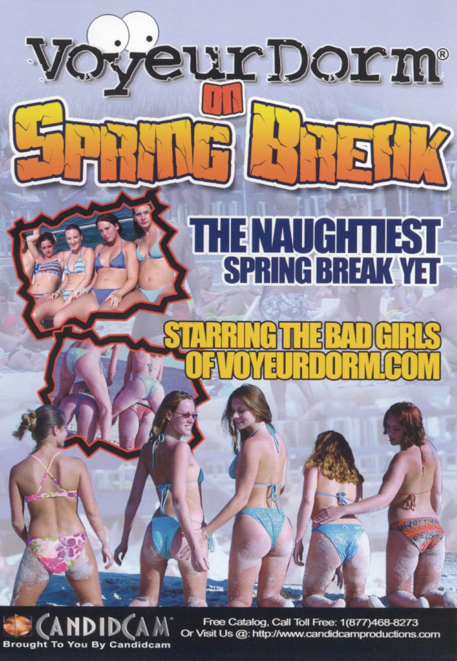 Voyeur Dorm: On Spring Break