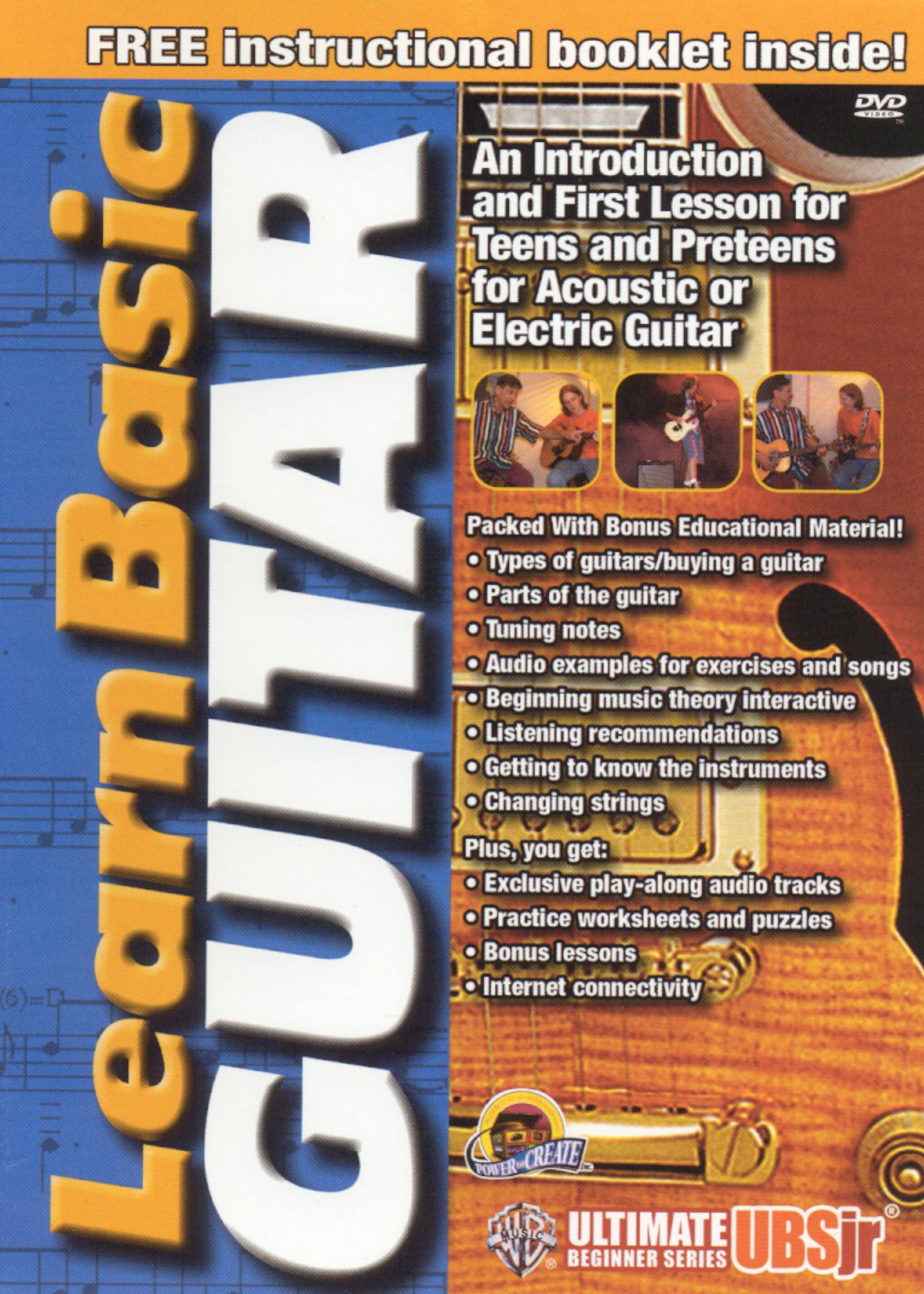Ultimate Beginner Jr.: Learn Basic Guitar