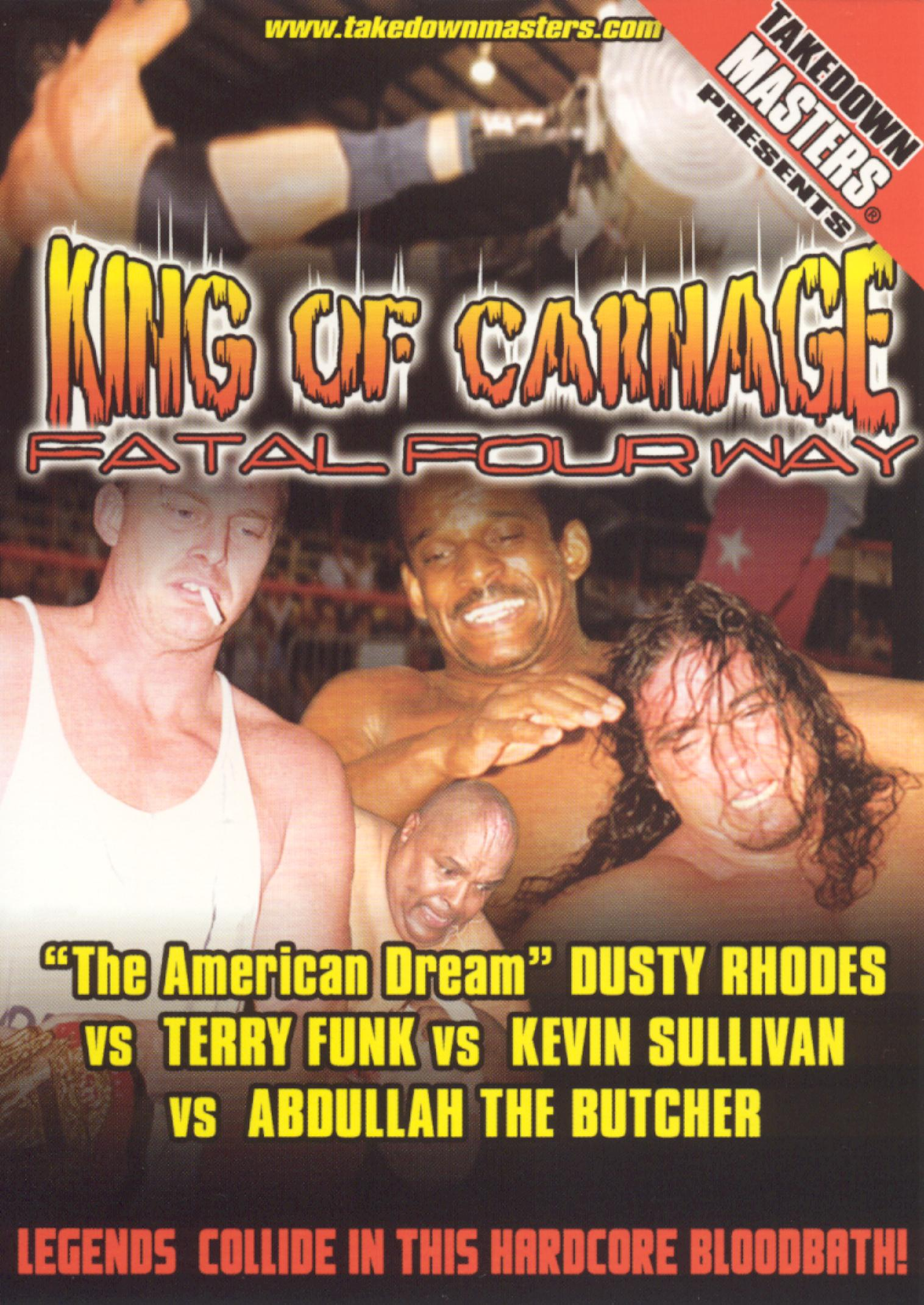King of Carnage: Fatal Four Way