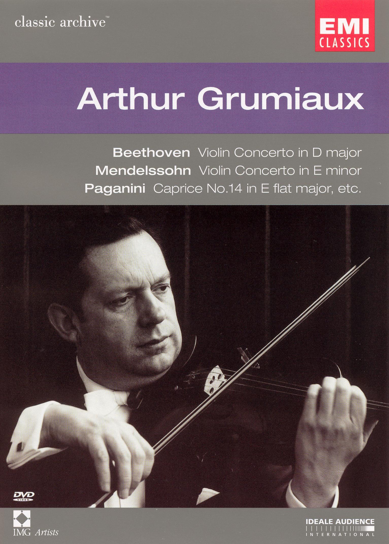 Classic Archive: Arthur Grumiaux