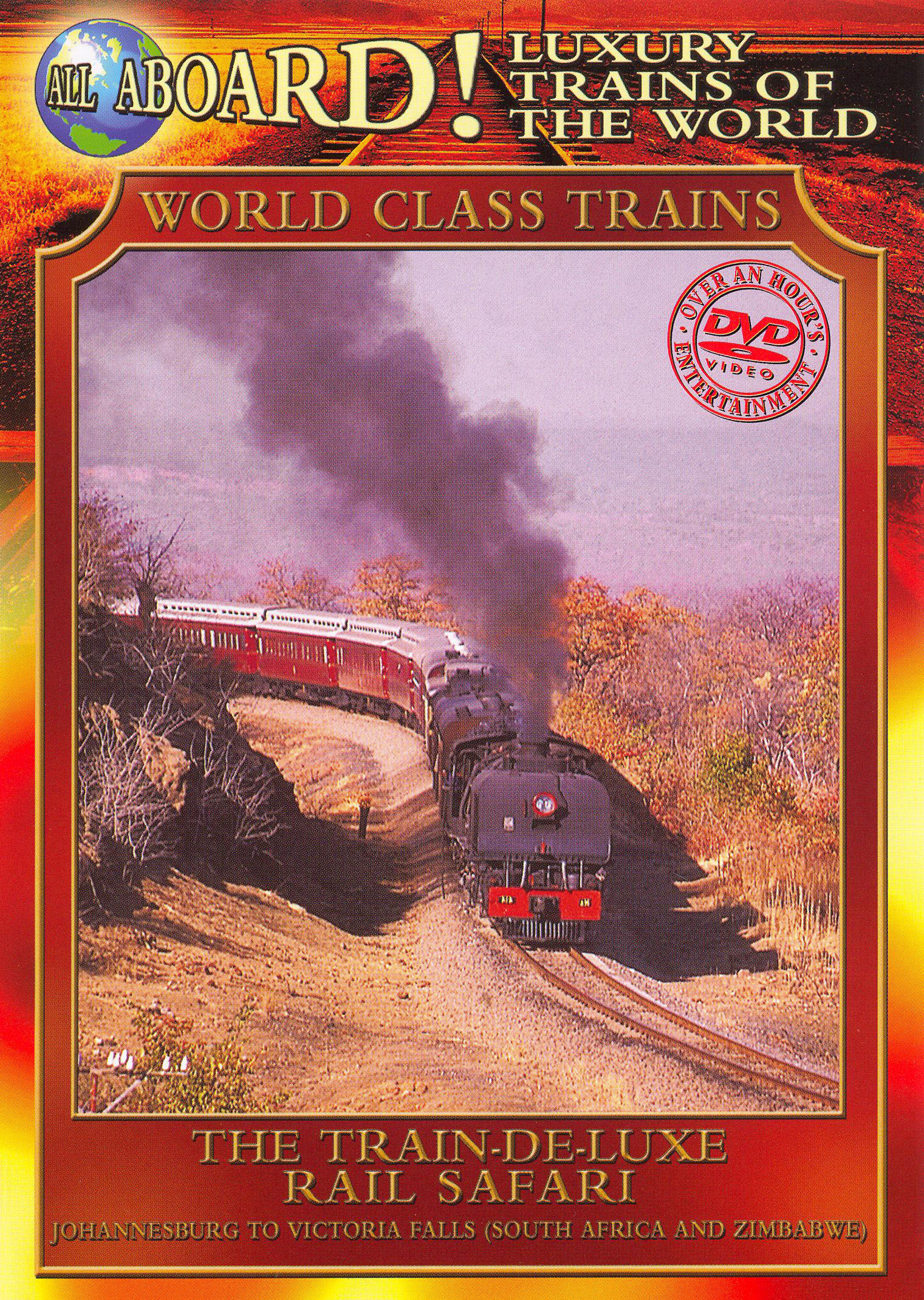 World Class Trains: The Train De-luxe Rail Safari
