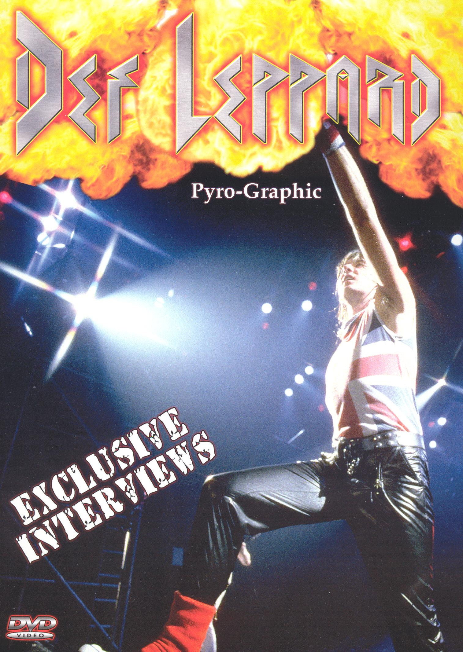 Def Leppard: Pyro-Graphic - Interviews