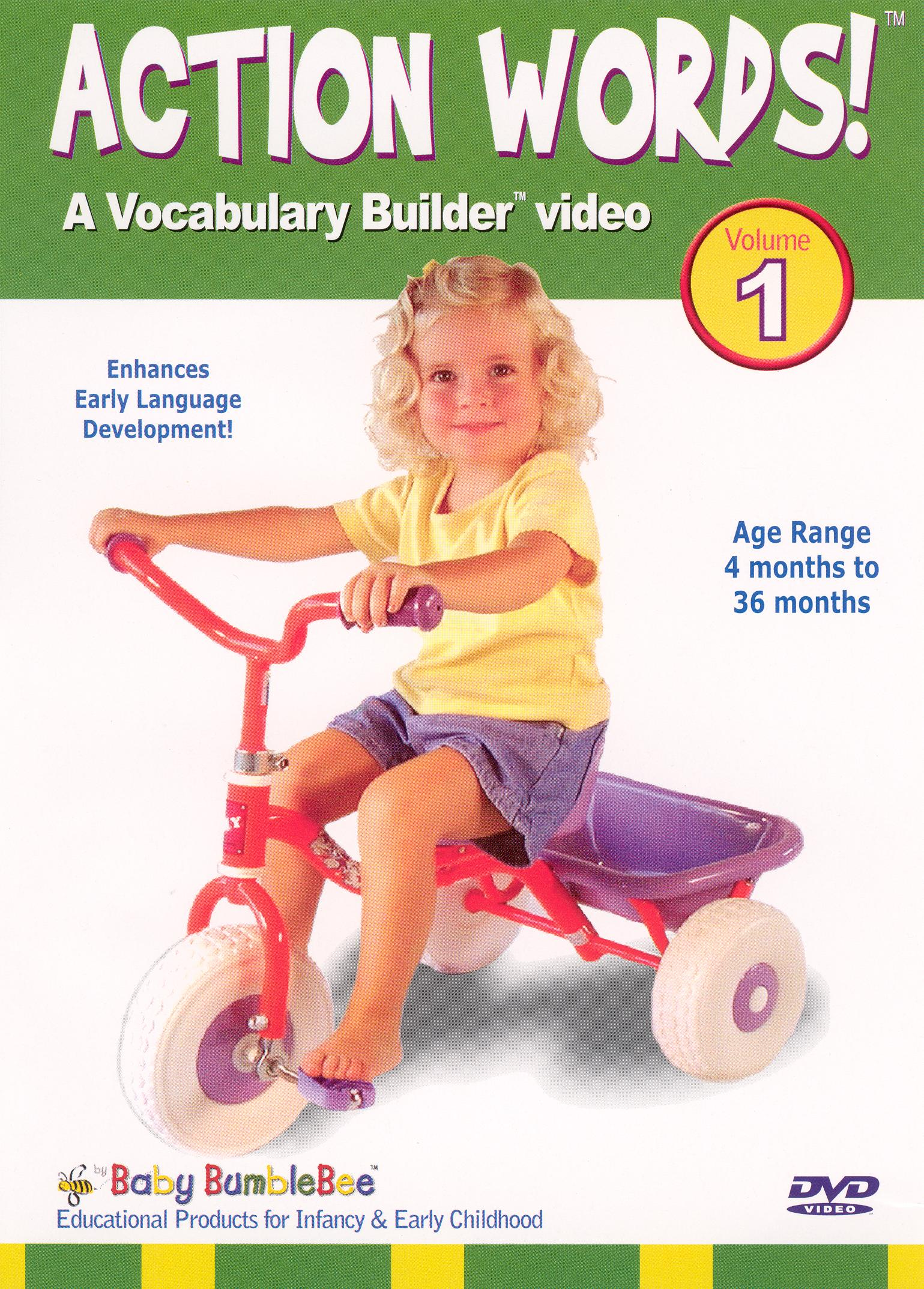 Bee Smart Baby: Action Words, Vol. 1