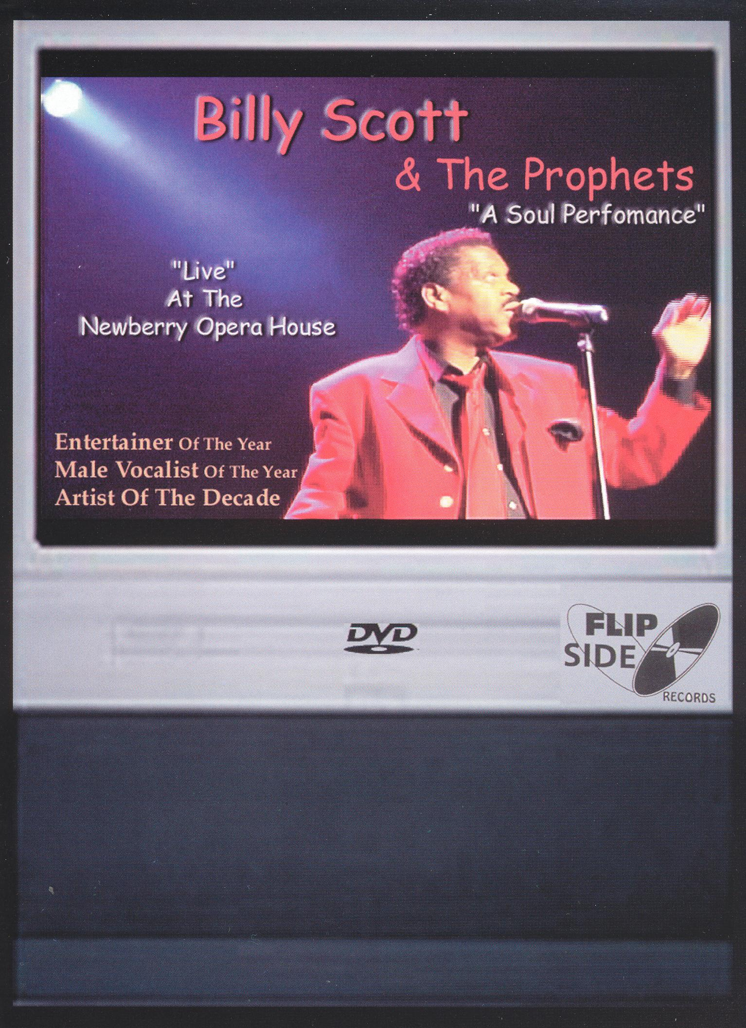 Billy Scott and the Prophets: A Soul Performance