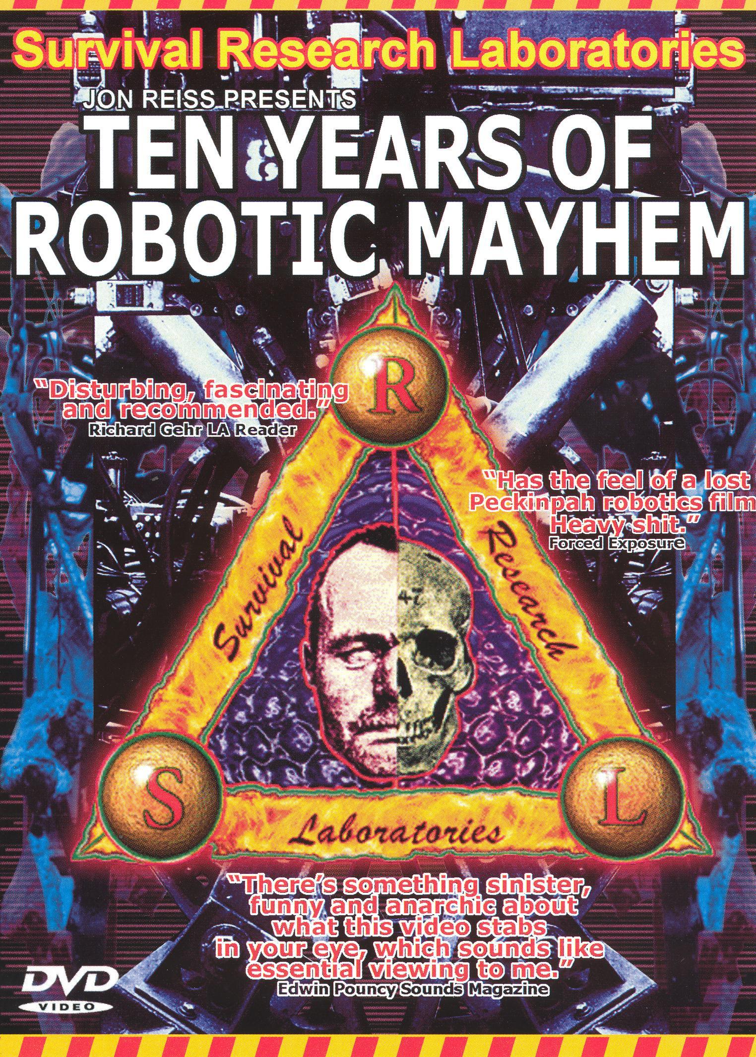 Survival Research Laboratories: Ten Years of Robotic Mayhem