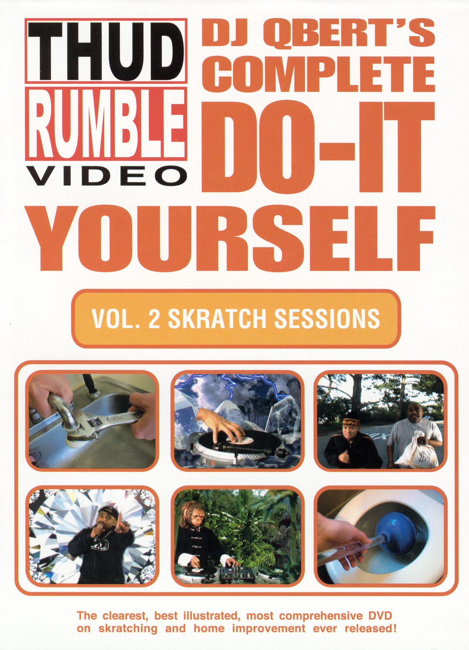 DJ Qbert: Complete Do-It-Yourself, Vol. 2 - Skratch Sessions