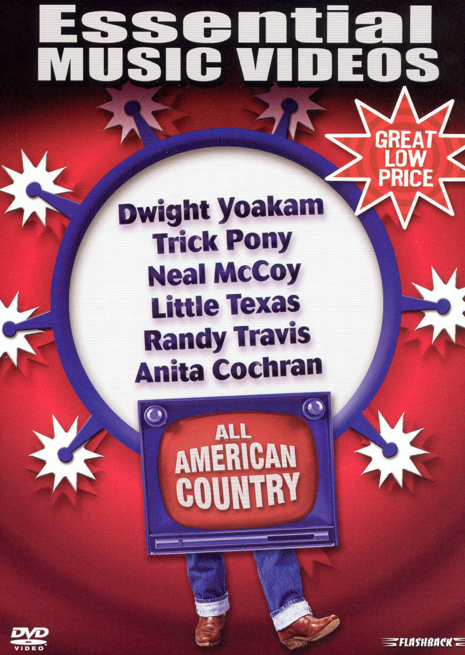 Essential Music Videos: All American Country