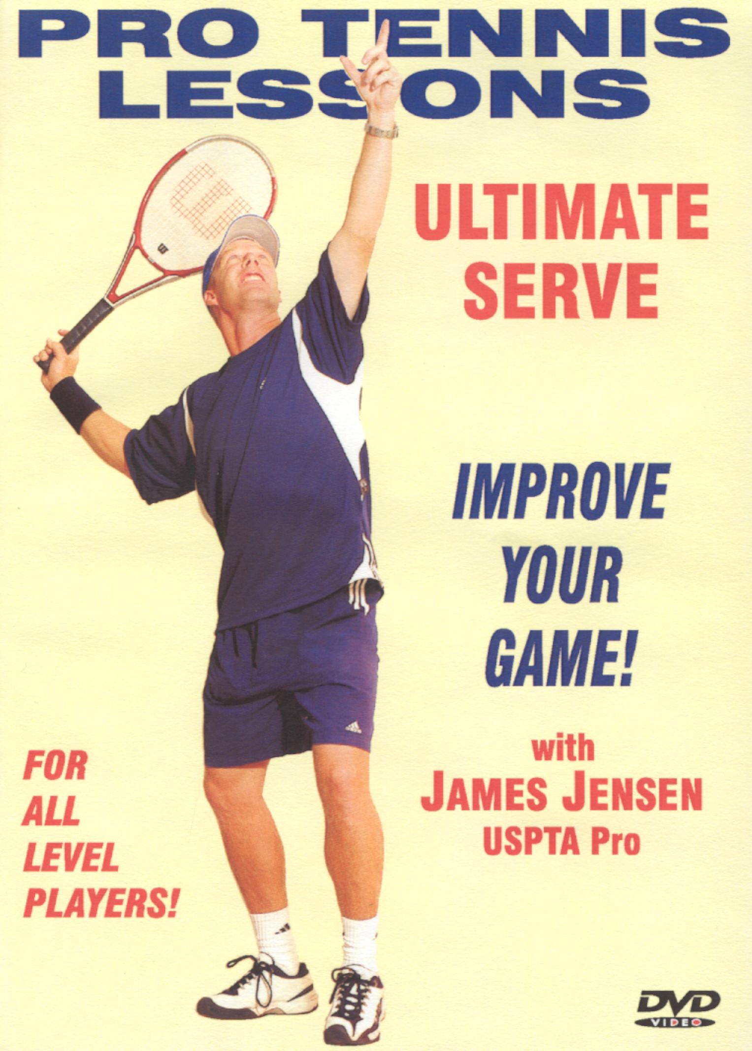 Pro Tennis Lessons: Ultimate Serve