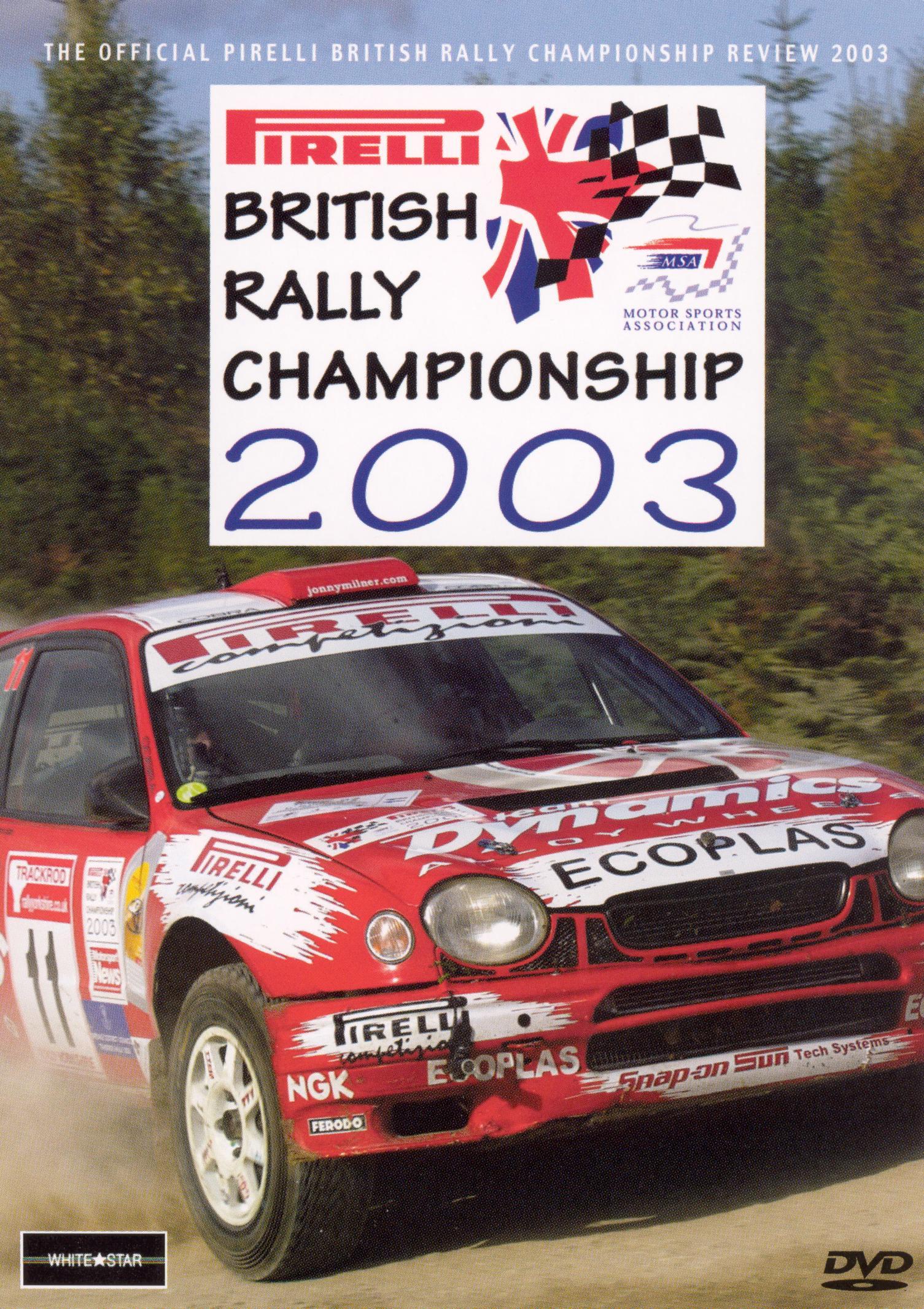 British Rally Championship Review 2003